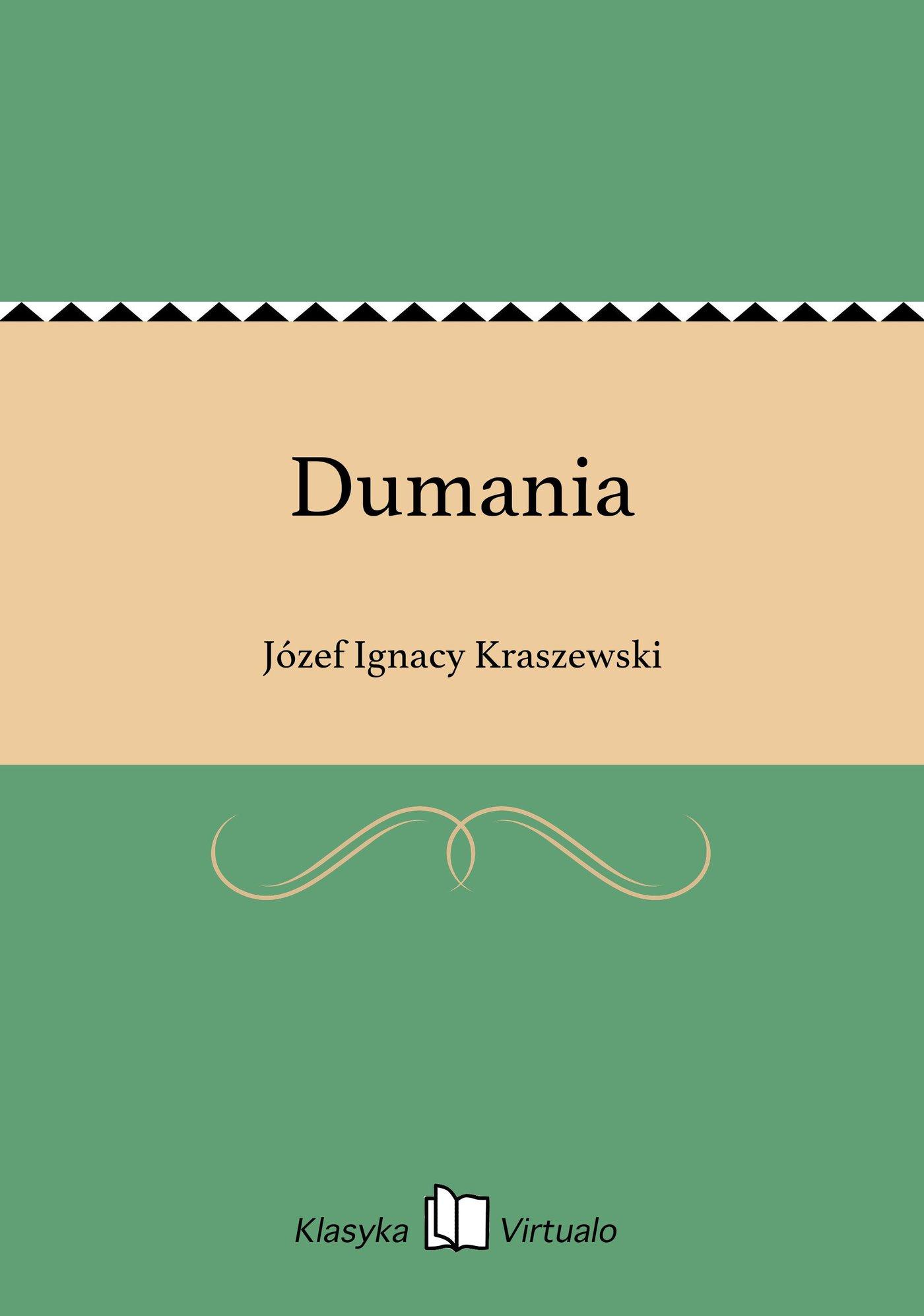 Dumania - Ebook (Książka na Kindle) do pobrania w formacie MOBI