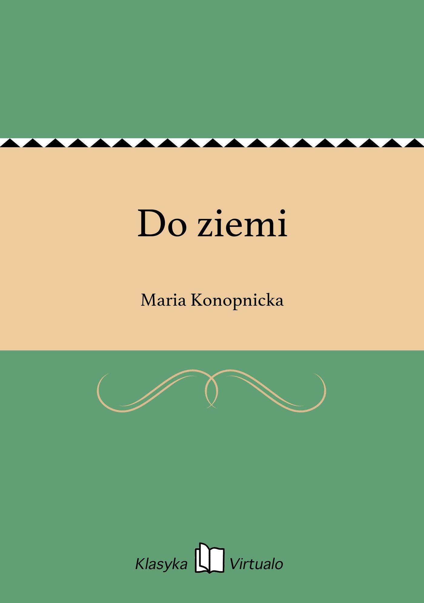 Do ziemi - Ebook (Książka na Kindle) do pobrania w formacie MOBI