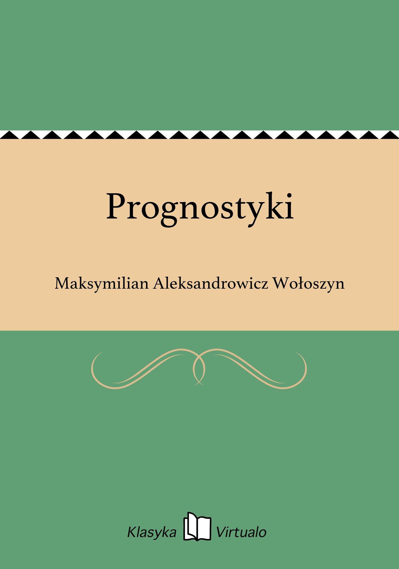 Prognostyki - Ebook (Książka na Kindle) do pobrania w formacie MOBI