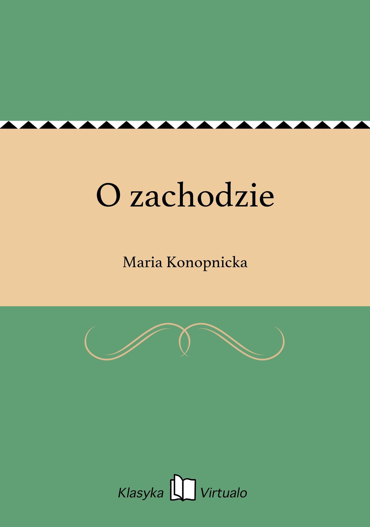 O zachodzie - Ebook (Książka na Kindle) do pobrania w formacie MOBI