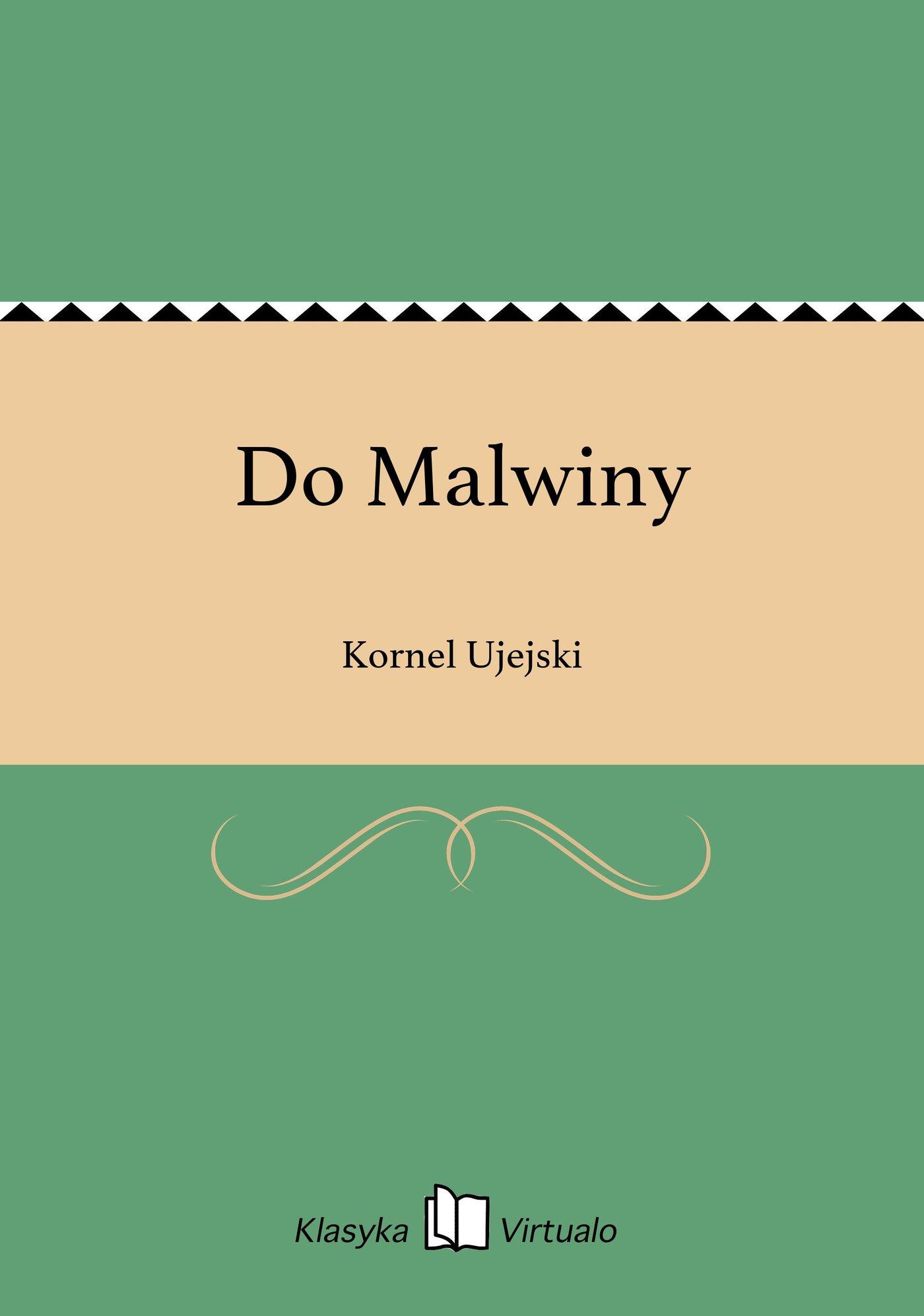 Do Malwiny - Ebook (Książka na Kindle) do pobrania w formacie MOBI
