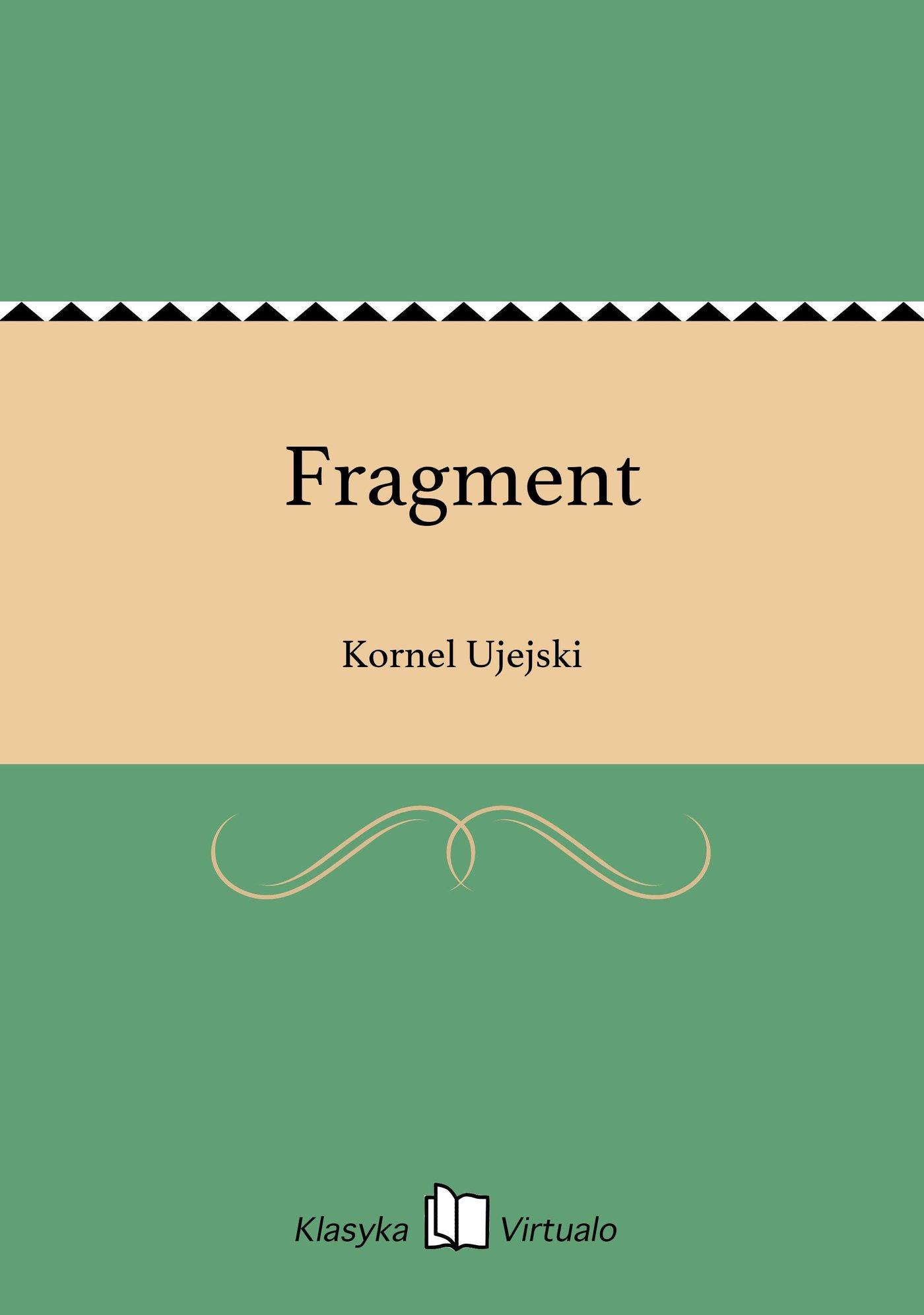 Fragment - Ebook (Książka na Kindle) do pobrania w formacie MOBI