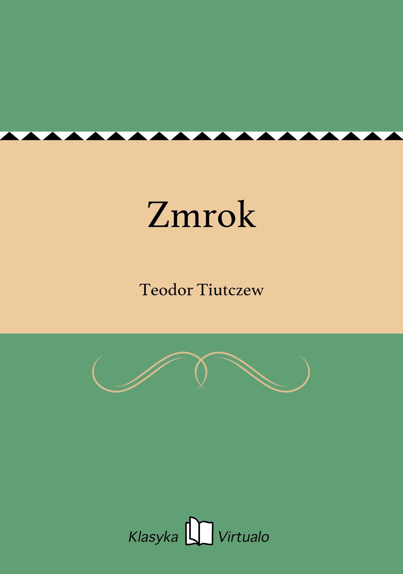 Zmrok - Ebook (Książka na Kindle) do pobrania w formacie MOBI
