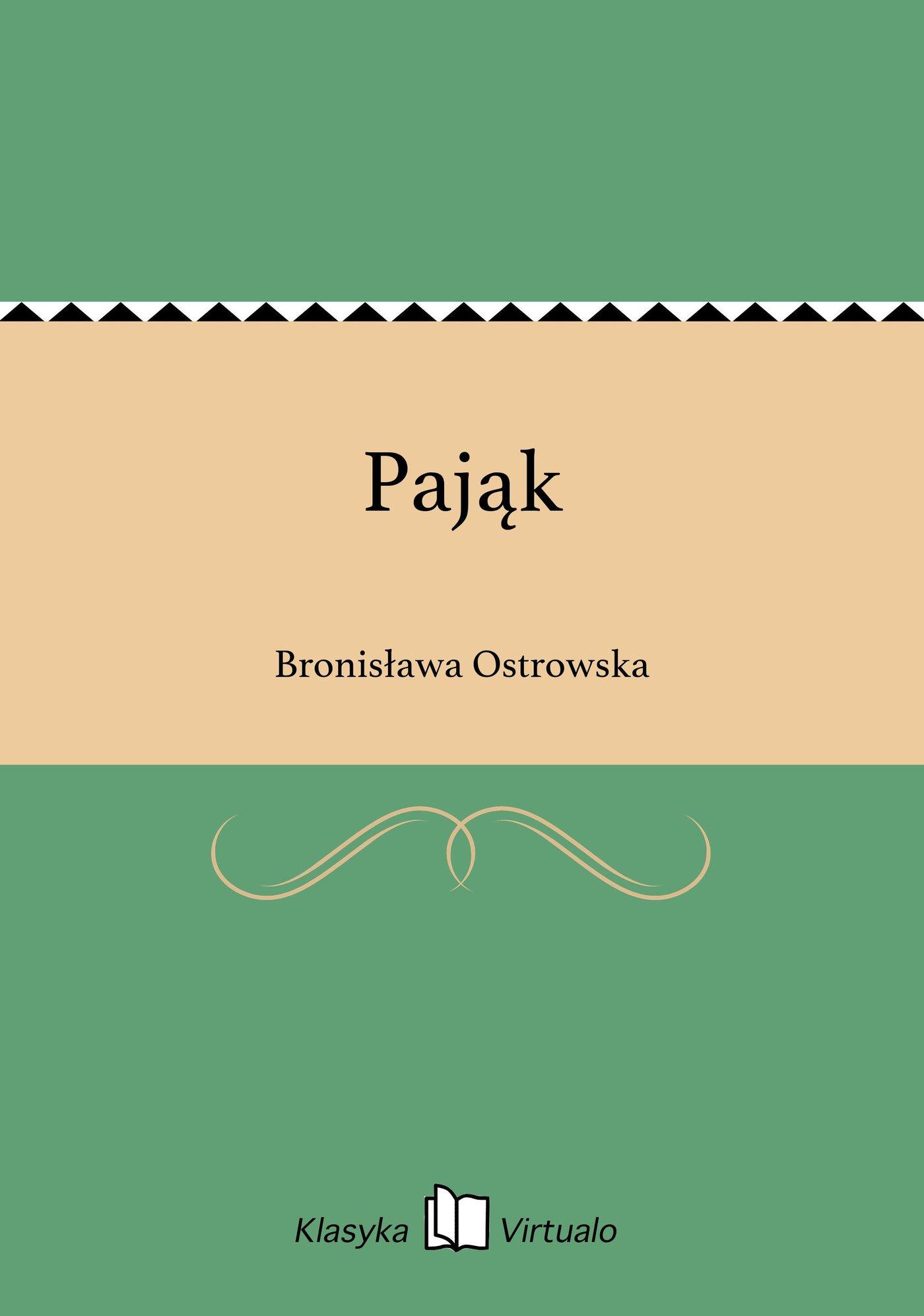 Pająk - Ebook (Książka na Kindle) do pobrania w formacie MOBI