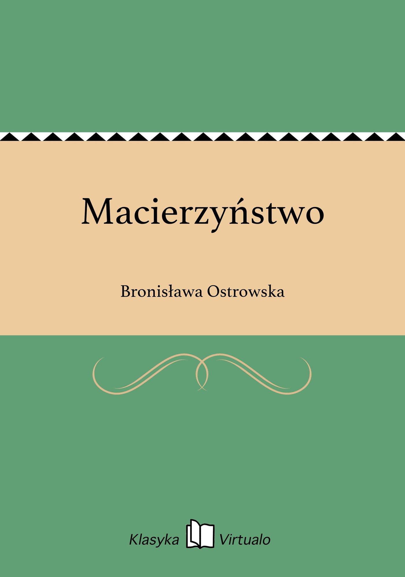 Macierzyństwo - Ebook (Książka na Kindle) do pobrania w formacie MOBI