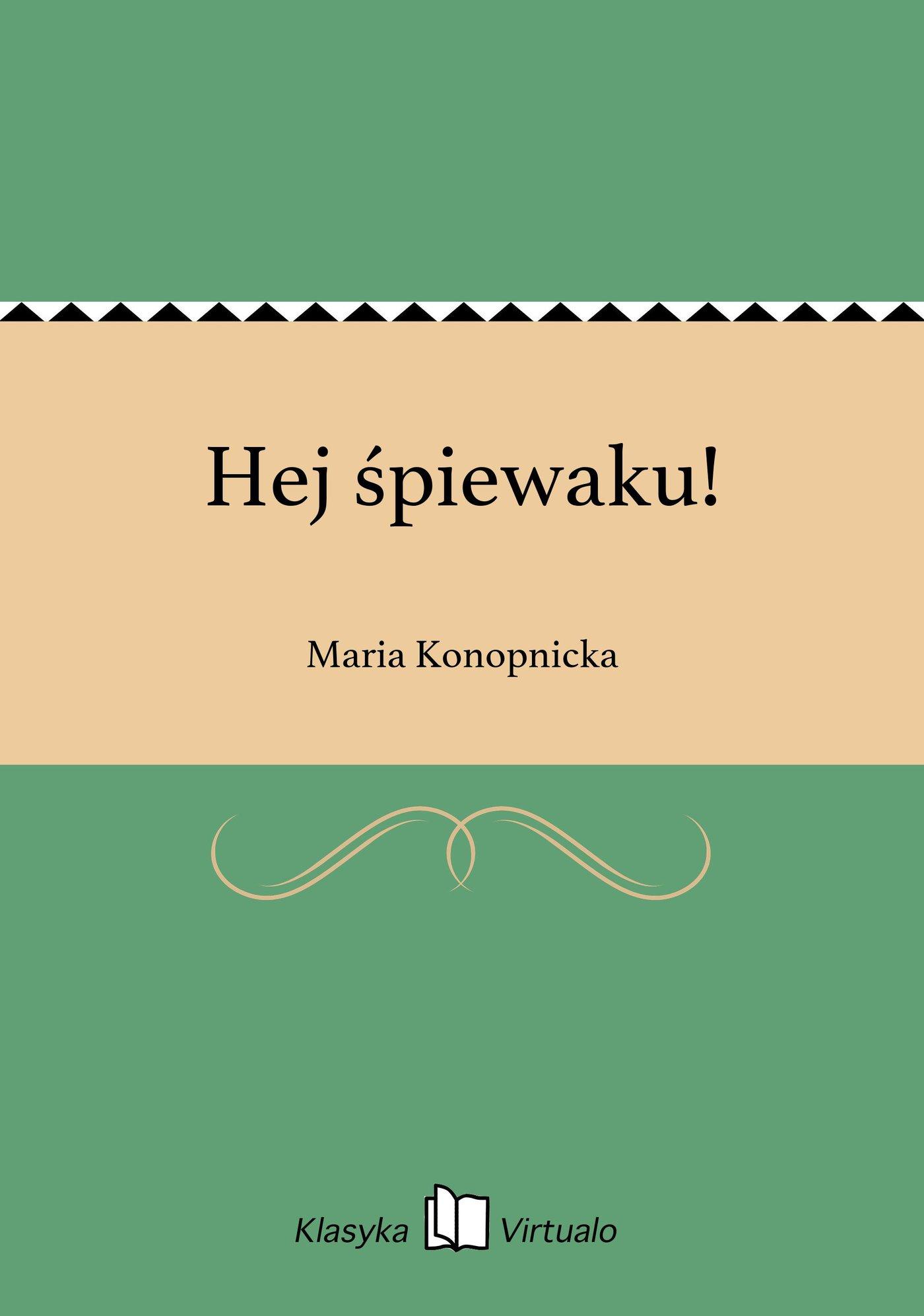 Hej śpiewaku! - Ebook (Książka na Kindle) do pobrania w formacie MOBI