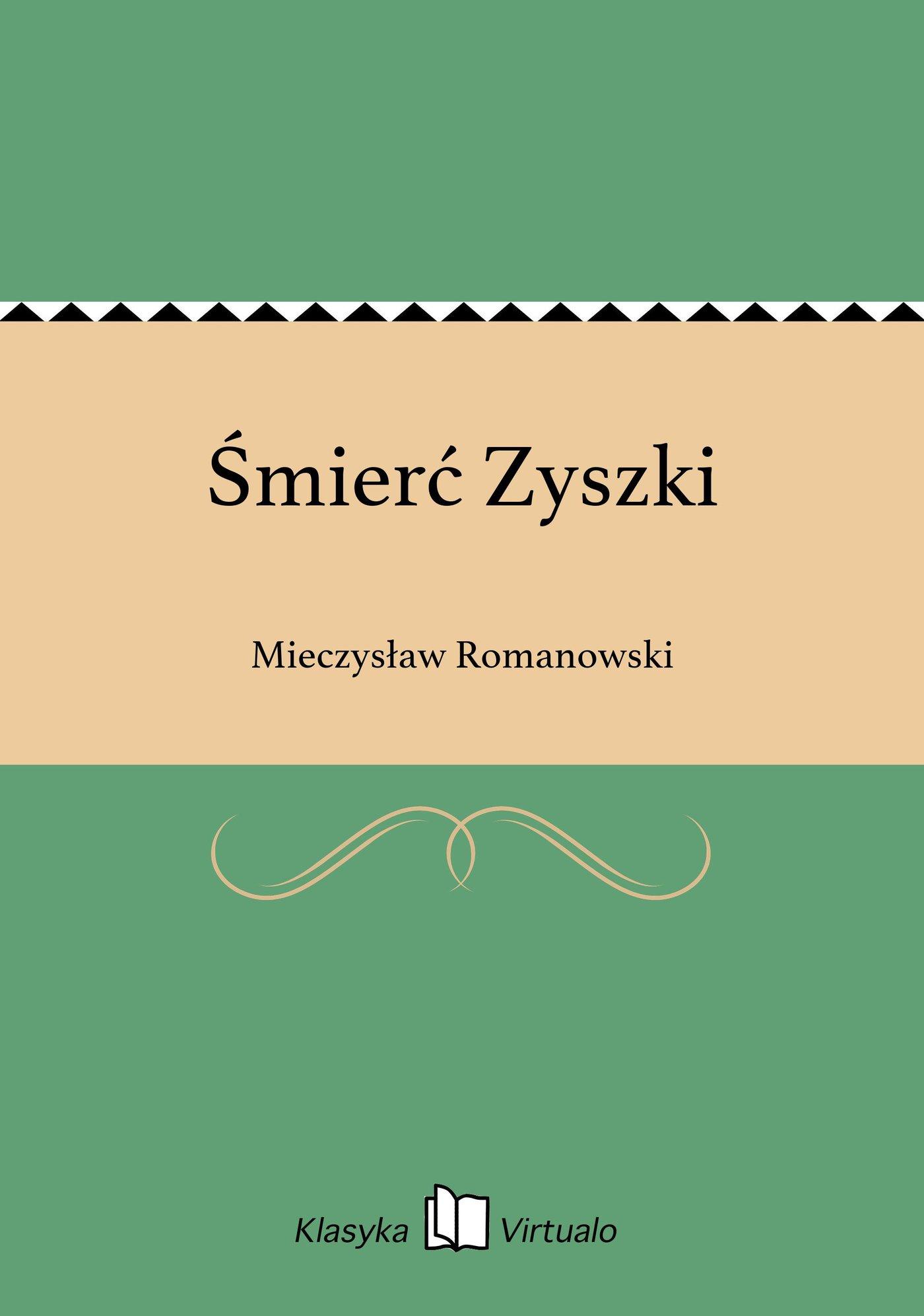 Śmierć Zyszki - Ebook (Książka na Kindle) do pobrania w formacie MOBI