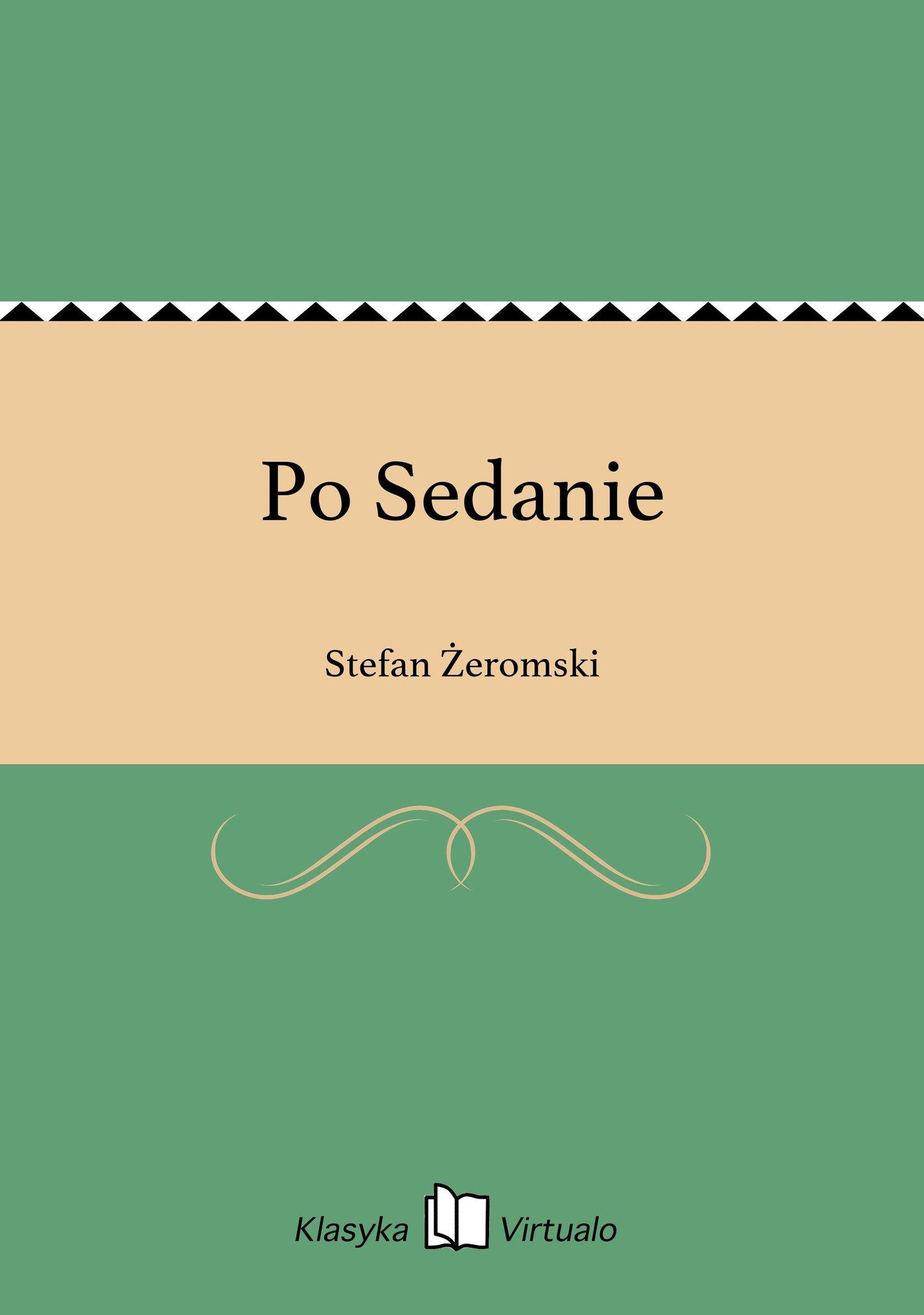 Po Sedanie - Ebook (Książka na Kindle) do pobrania w formacie MOBI