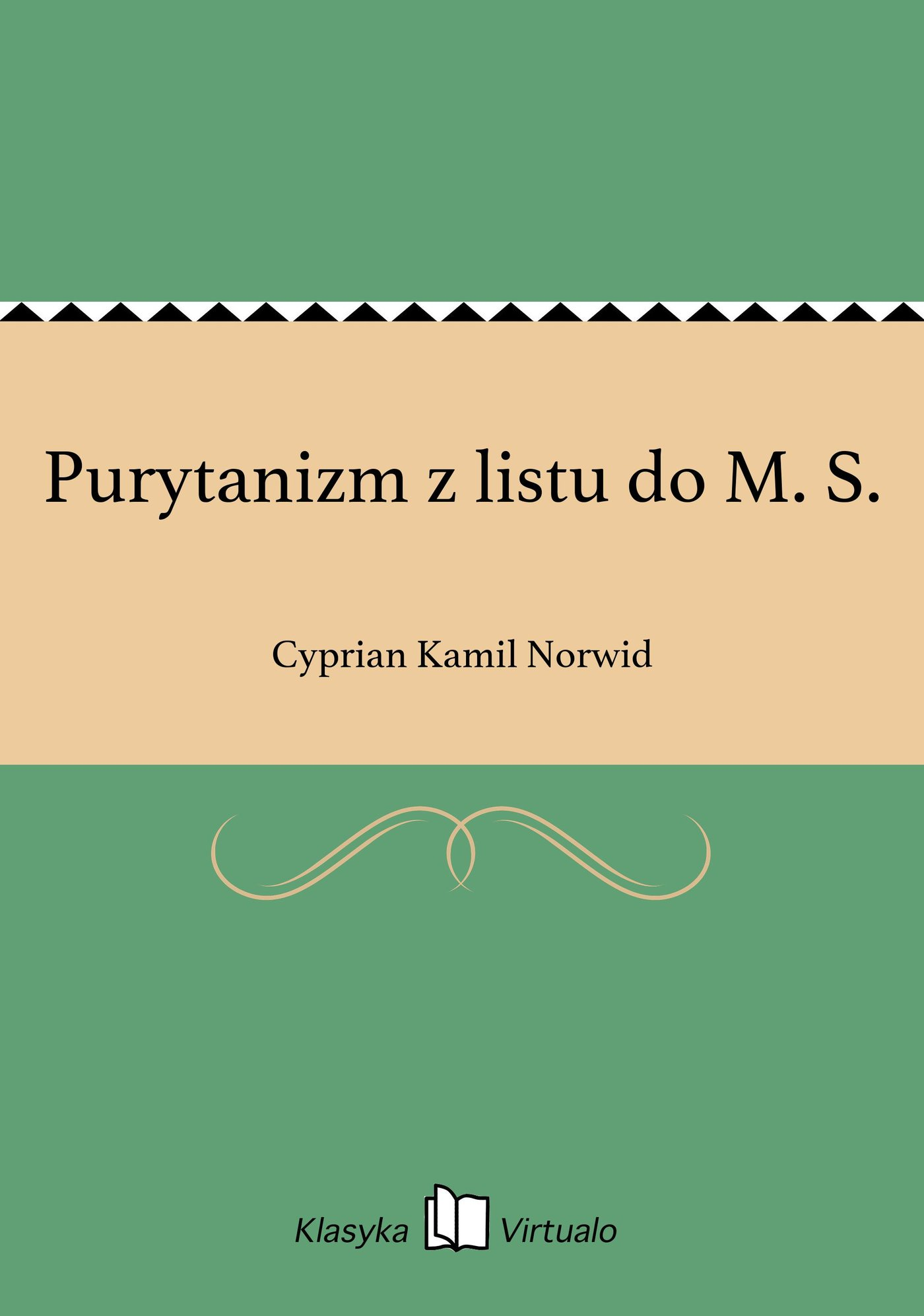 Purytanizm z listu do M. S. - Ebook (Książka na Kindle) do pobrania w formacie MOBI