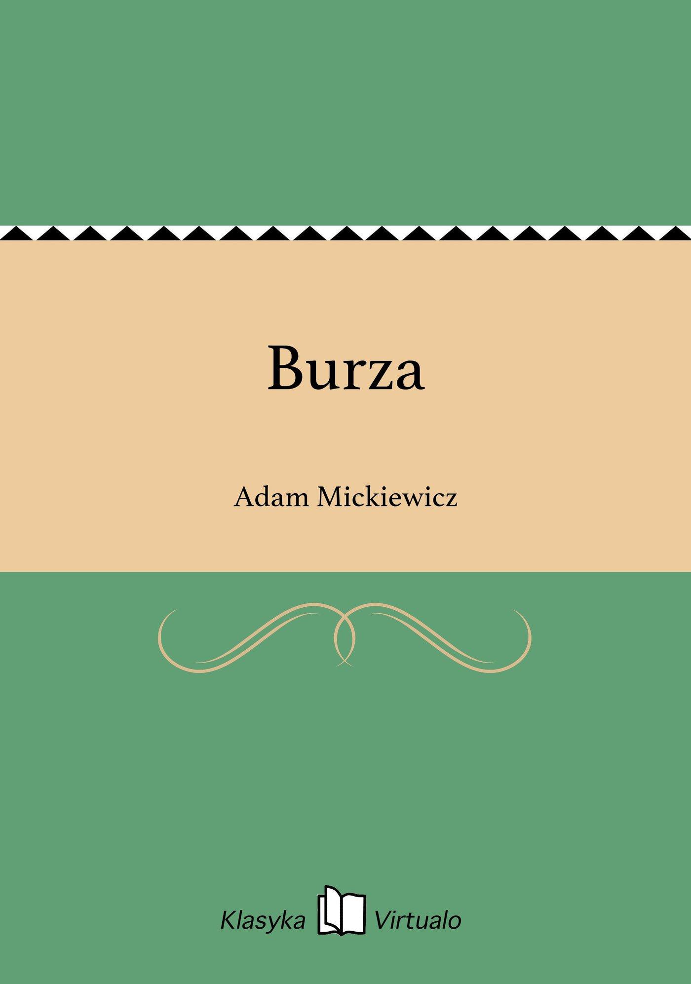 Burza - Ebook (Książka na Kindle) do pobrania w formacie MOBI