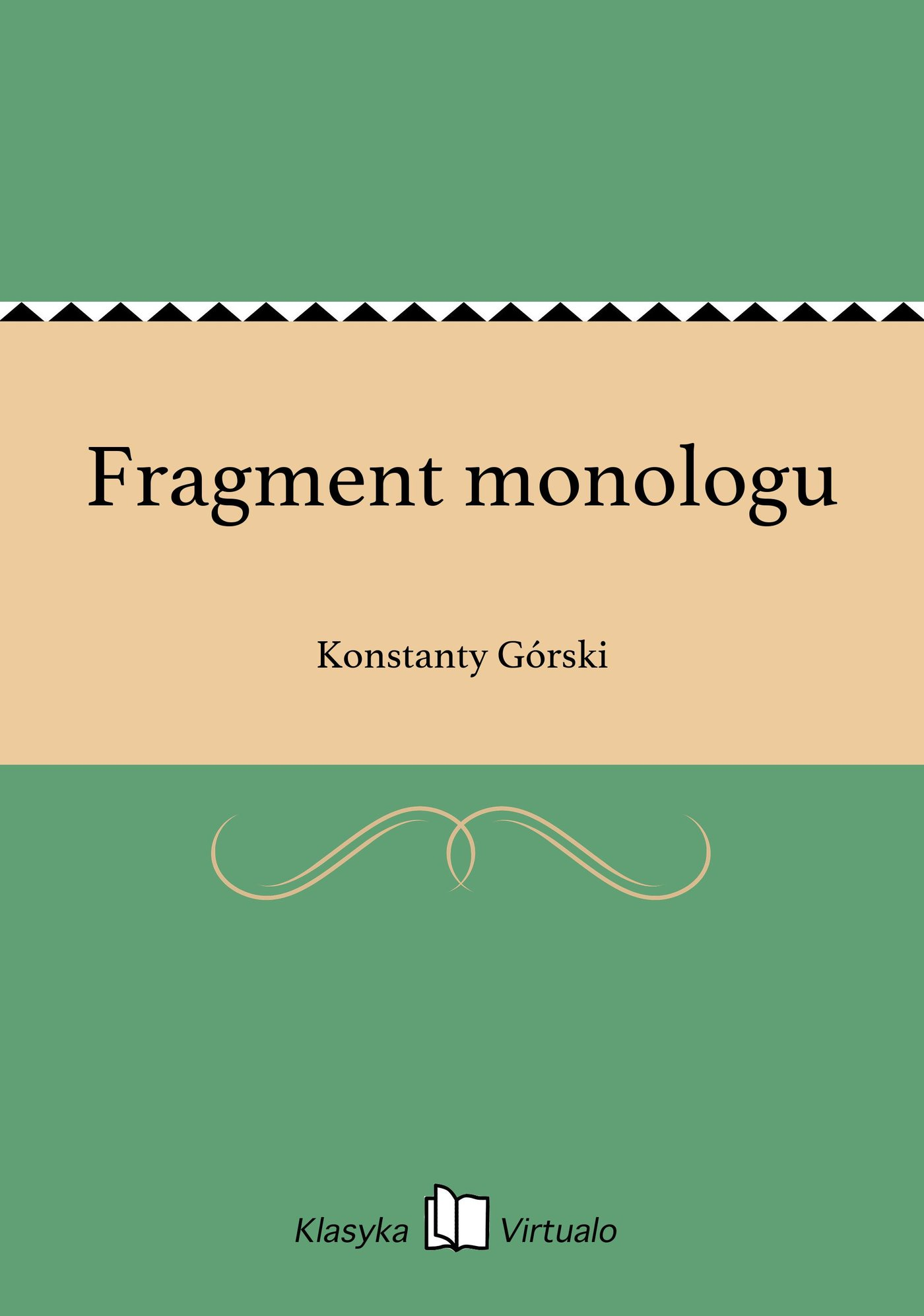 Fragment monologu - Ebook (Książka na Kindle) do pobrania w formacie MOBI