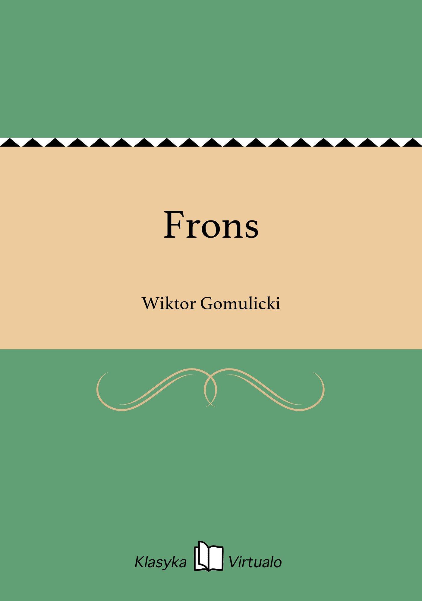 Frons - Ebook (Książka na Kindle) do pobrania w formacie MOBI