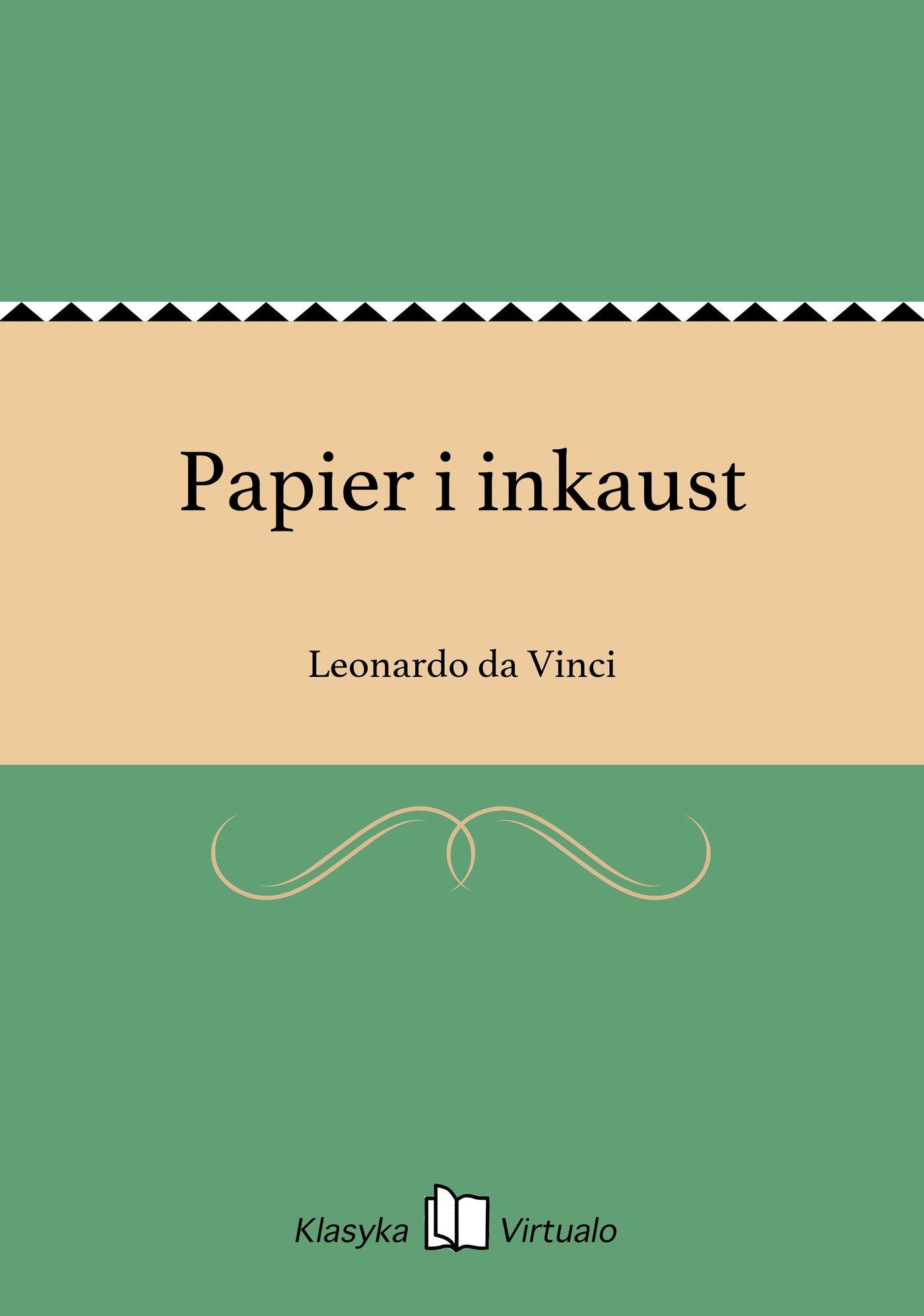 Papier i inkaust - Ebook (Książka na Kindle) do pobrania w formacie MOBI