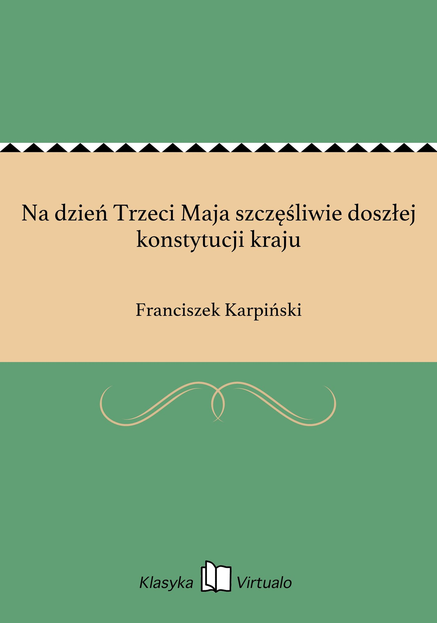 Na dzień Trzeci Maja szczęśliwie doszłej konstytucji kraju - Ebook (Książka na Kindle) do pobrania w formacie MOBI