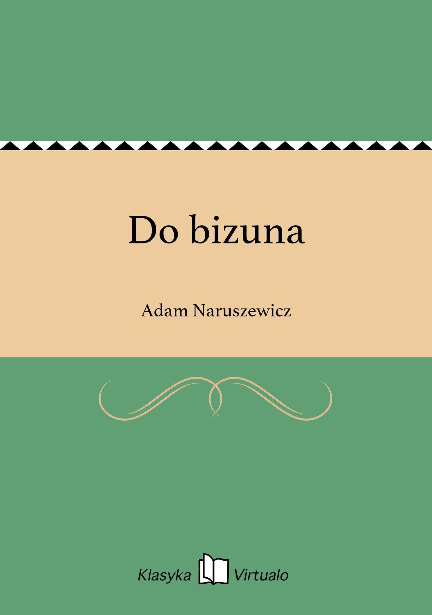 Do bizuna - Ebook (Książka na Kindle) do pobrania w formacie MOBI