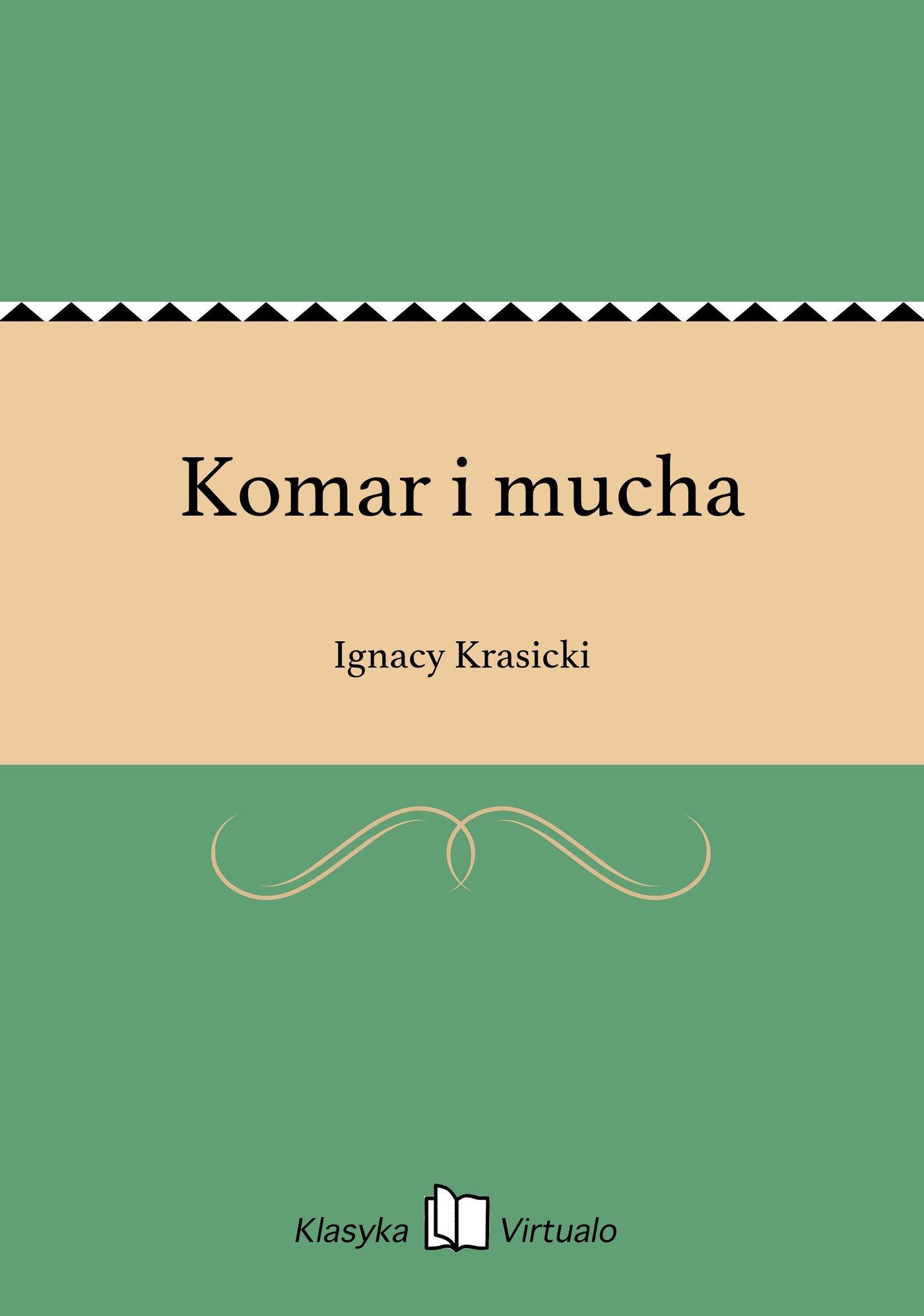 Komar i mucha - Ebook (Książka na Kindle) do pobrania w formacie MOBI