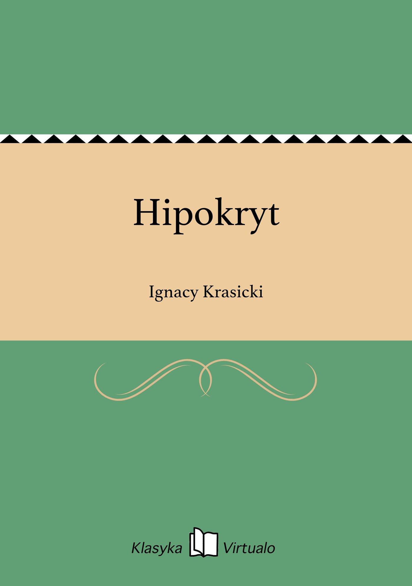 Hipokryt - Ebook (Książka na Kindle) do pobrania w formacie MOBI