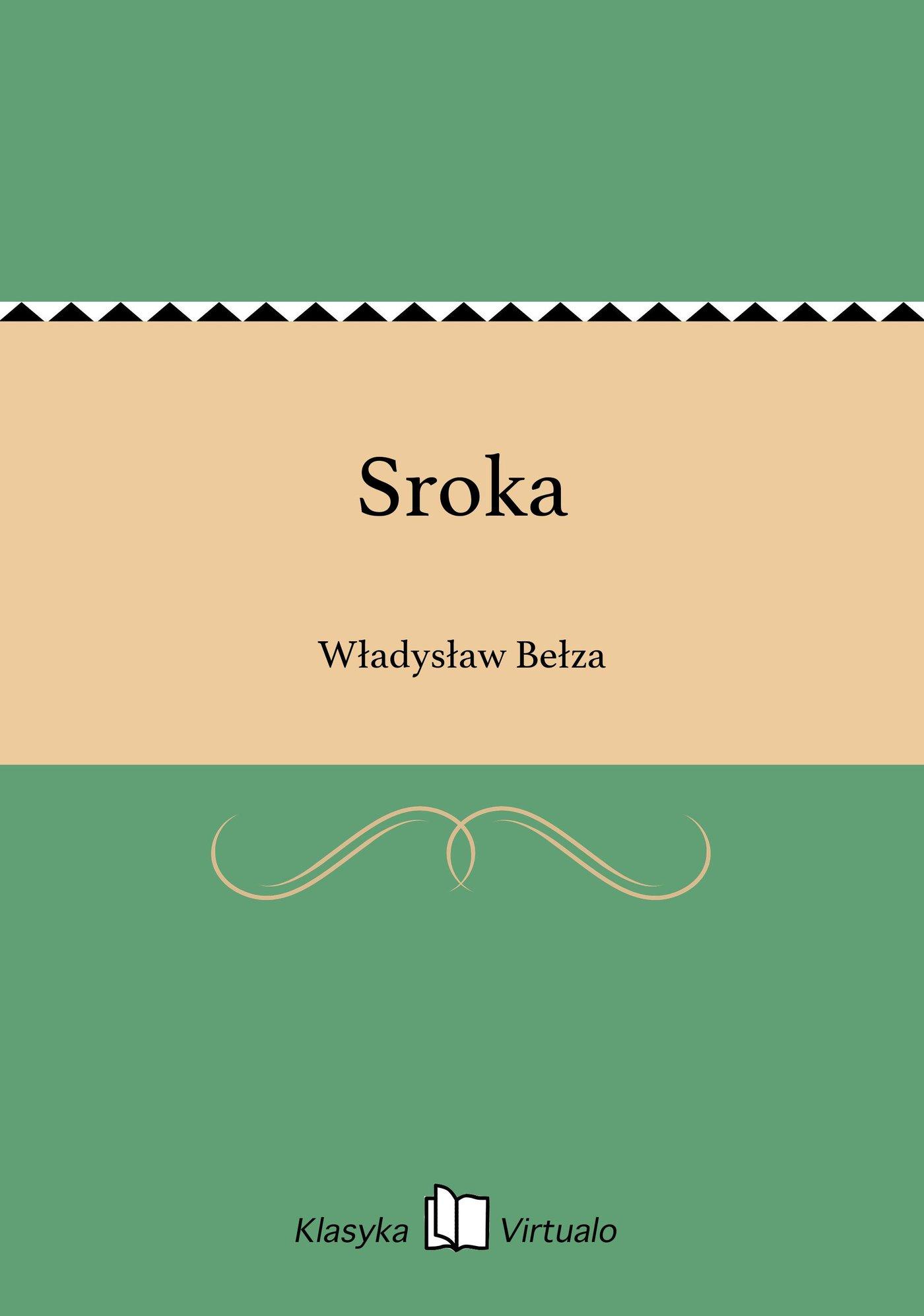 Sroka - Ebook (Książka na Kindle) do pobrania w formacie MOBI
