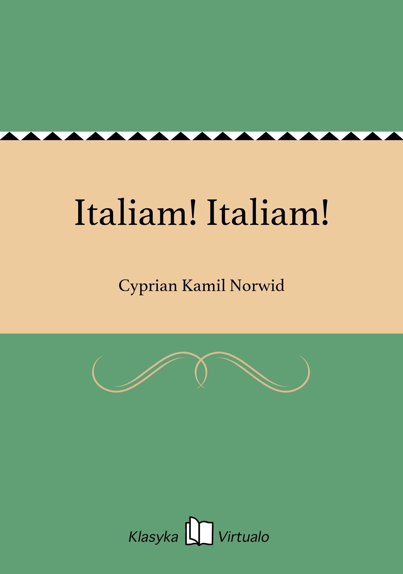Italiam! Italiam! - Ebook (Książka na Kindle) do pobrania w formacie MOBI