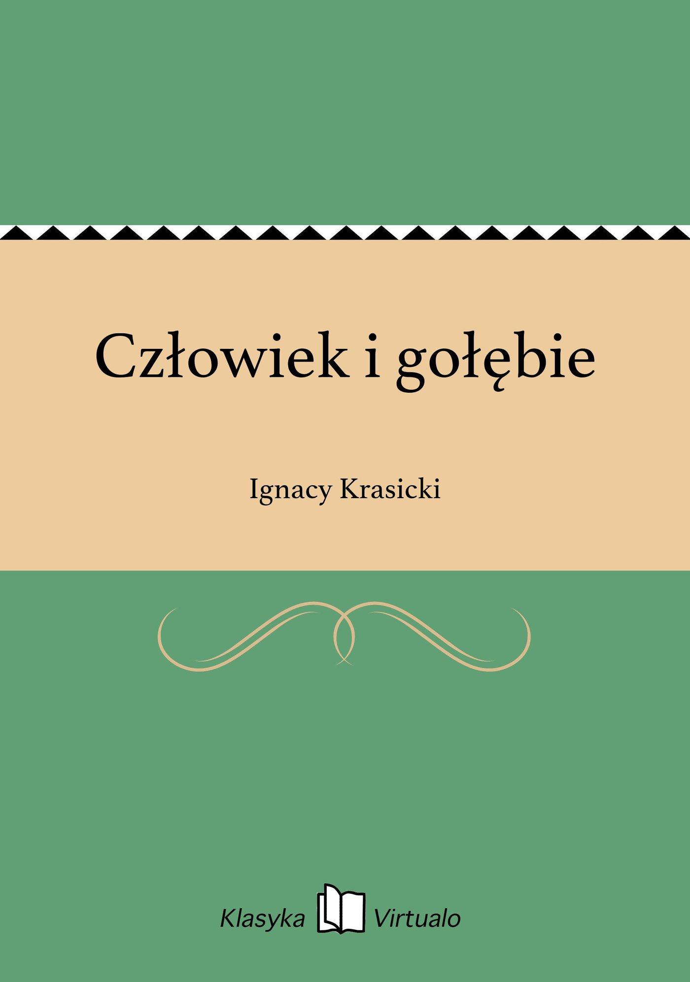 Człowiek i gołębie - Ebook (Książka na Kindle) do pobrania w formacie MOBI