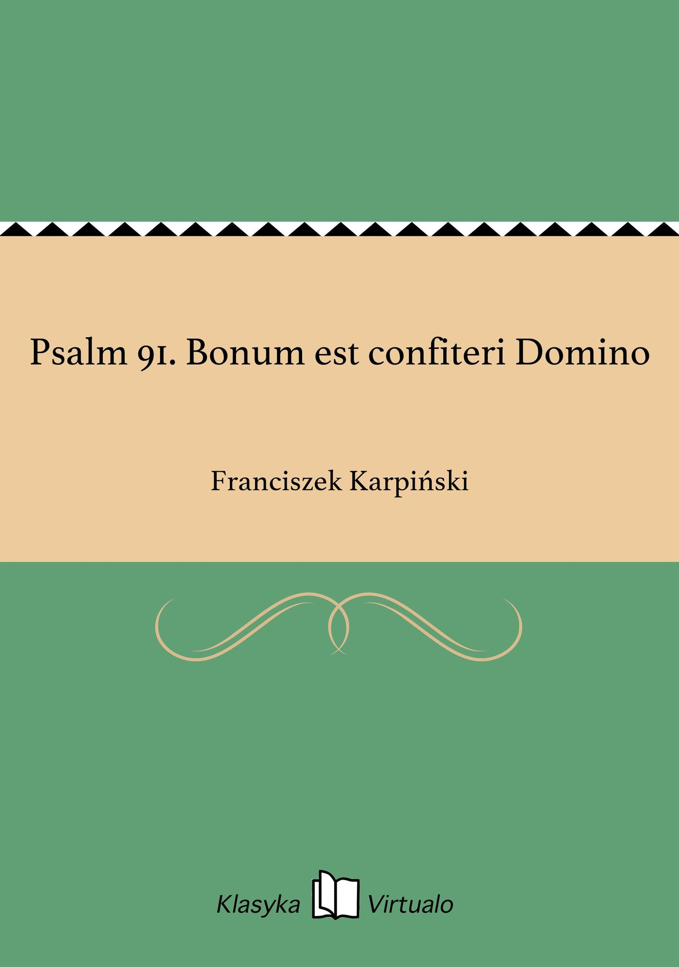 Psalm 91. Bonum est confiteri Domino - Ebook (Książka na Kindle) do pobrania w formacie MOBI