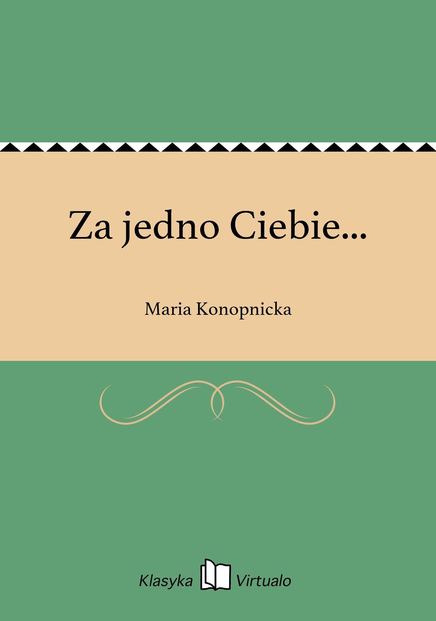 Za jedno Ciebie... - Ebook (Książka na Kindle) do pobrania w formacie MOBI