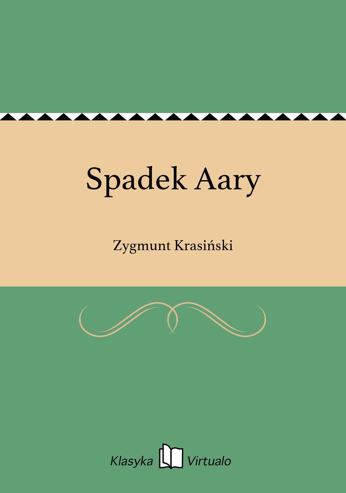 Spadek Aary - Ebook (Książka na Kindle) do pobrania w formacie MOBI