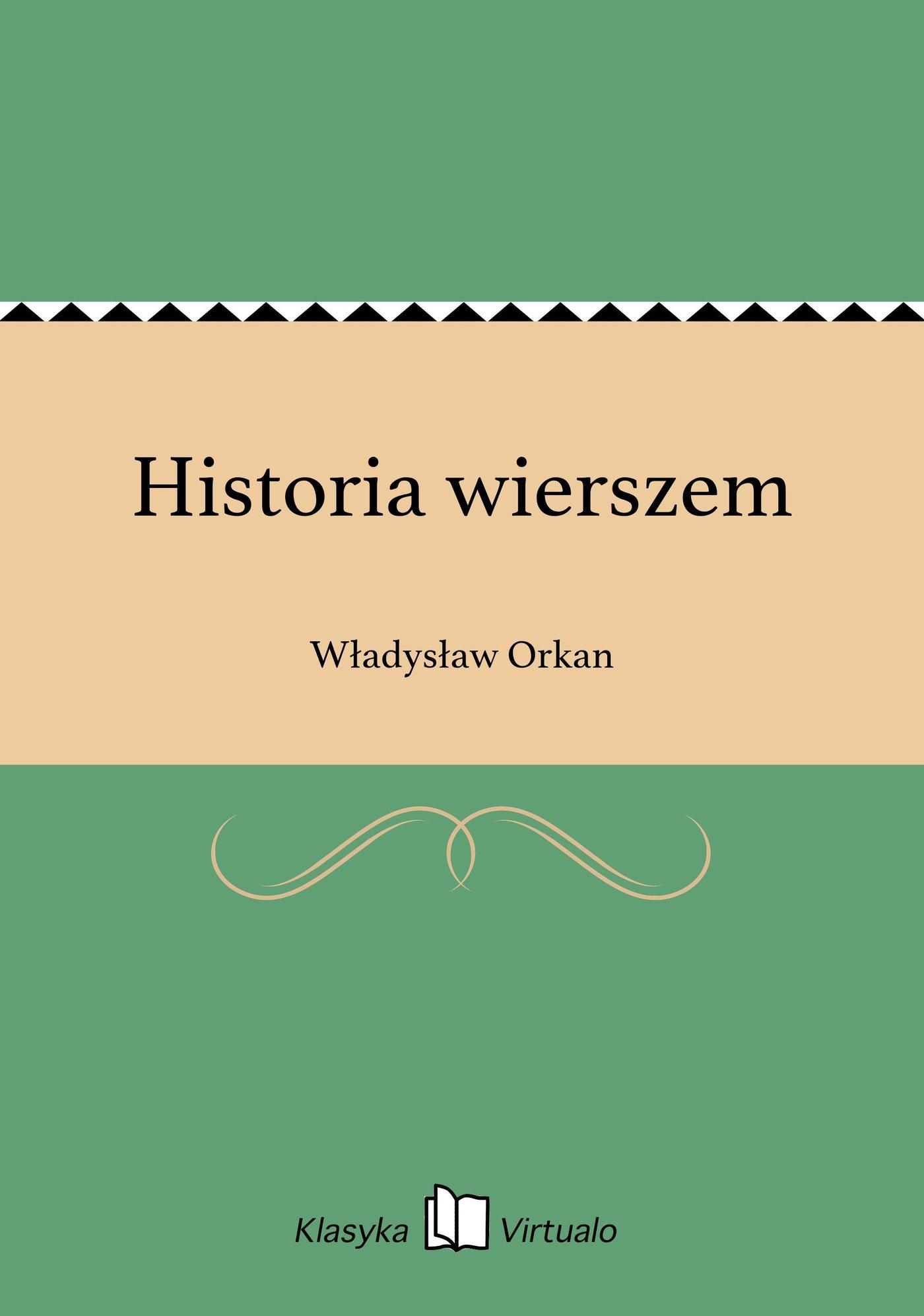 Historia wierszem - Ebook (Książka na Kindle) do pobrania w formacie MOBI