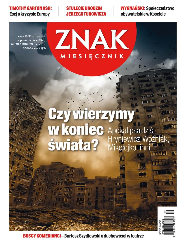 Miesięcznik Znak. Grudzień 2012 - Ebook (Książka EPUB) do pobrania w formacie EPUB