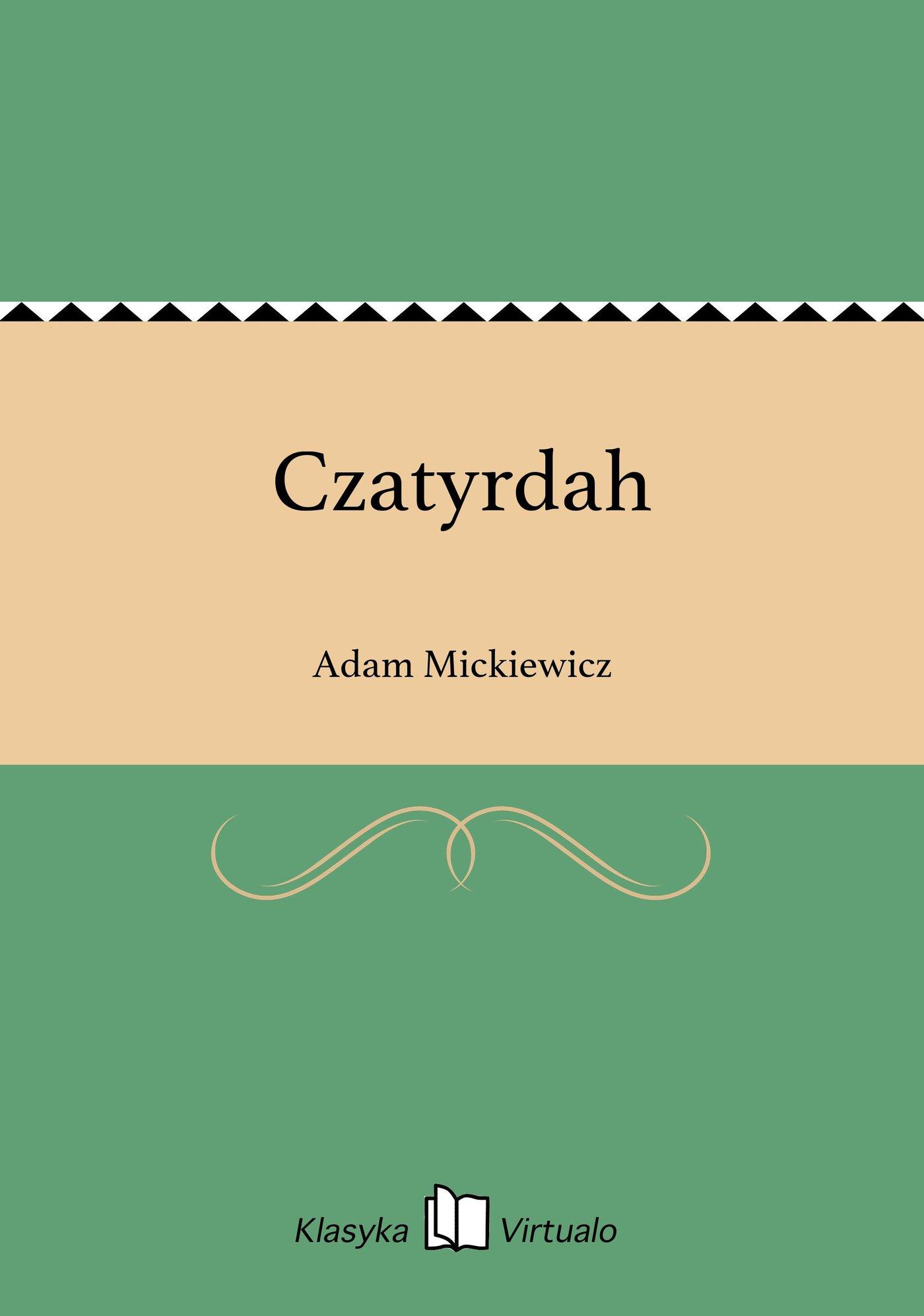 Czatyrdah - Ebook (Książka na Kindle) do pobrania w formacie MOBI