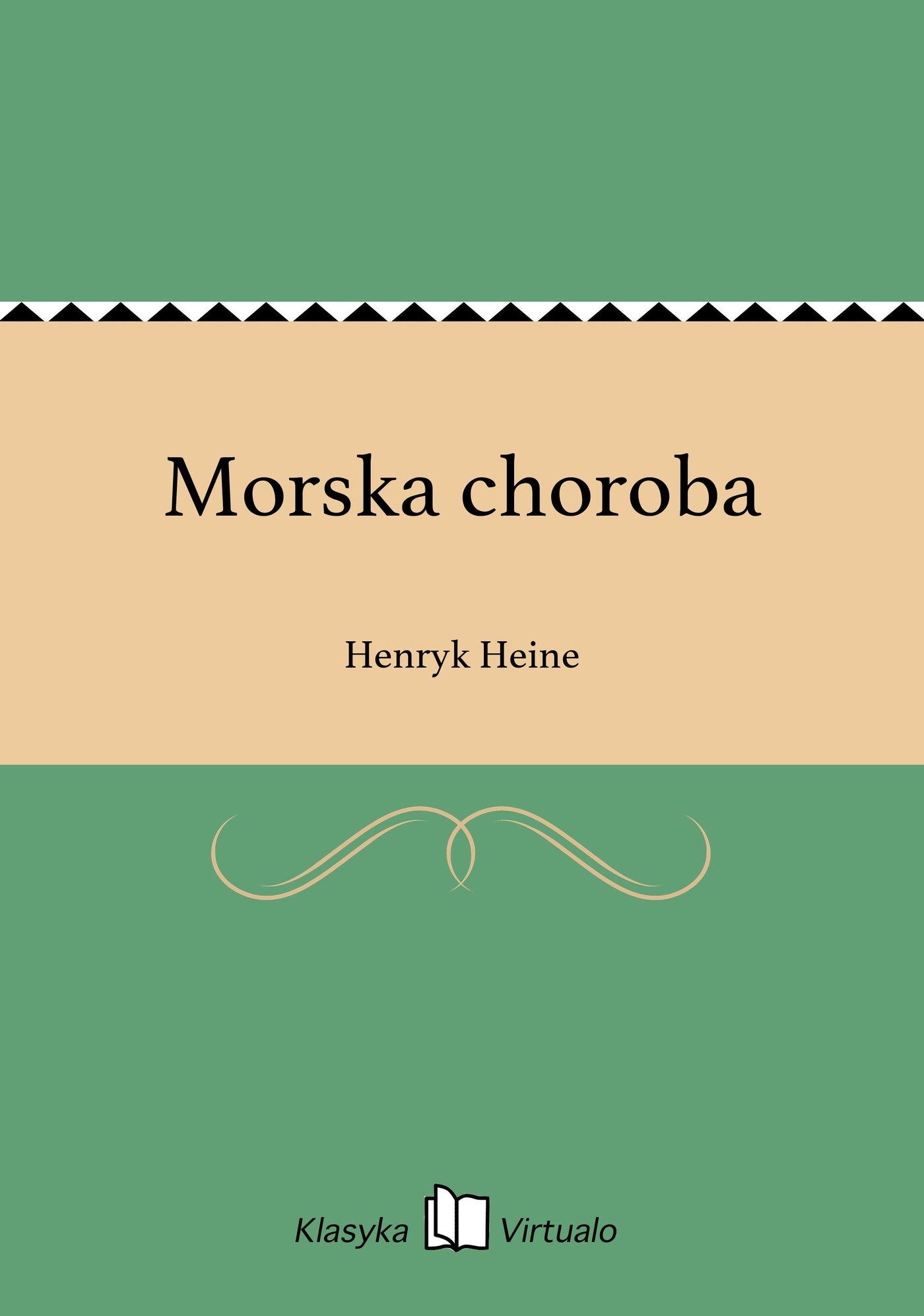 Morska choroba - Ebook (Książka na Kindle) do pobrania w formacie MOBI