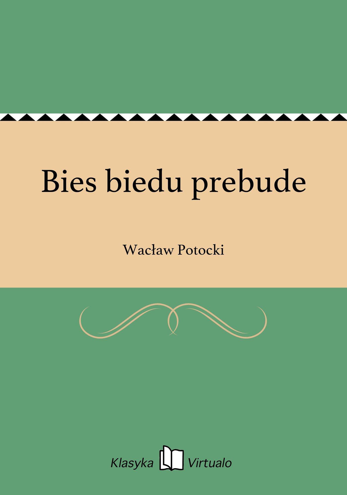 Bies biedu prebude - Ebook (Książka na Kindle) do pobrania w formacie MOBI