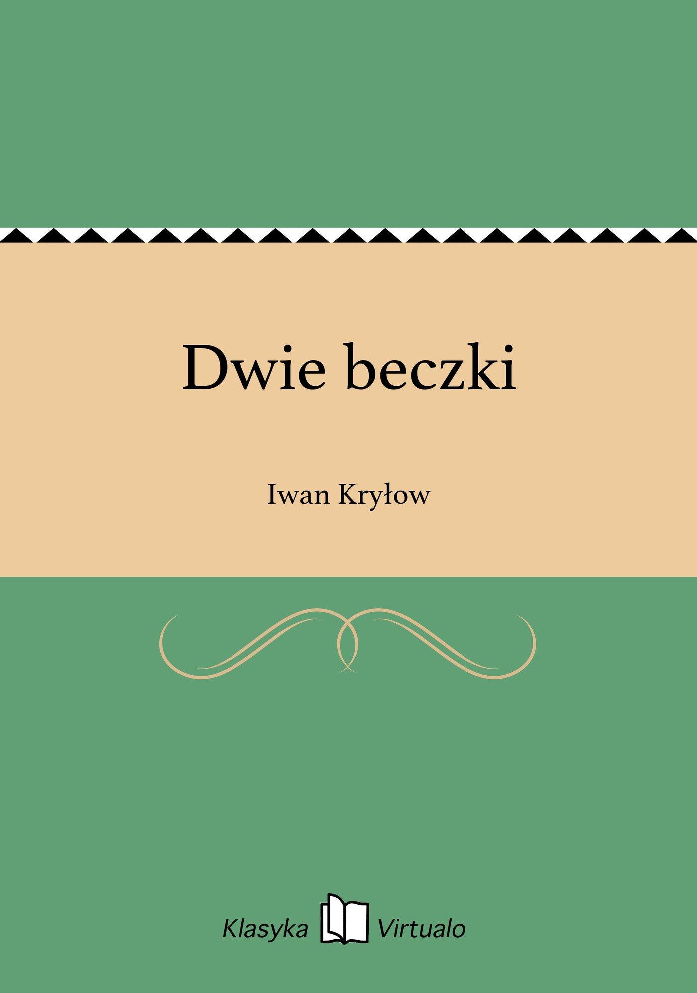 Dwie beczki - Ebook (Książka na Kindle) do pobrania w formacie MOBI