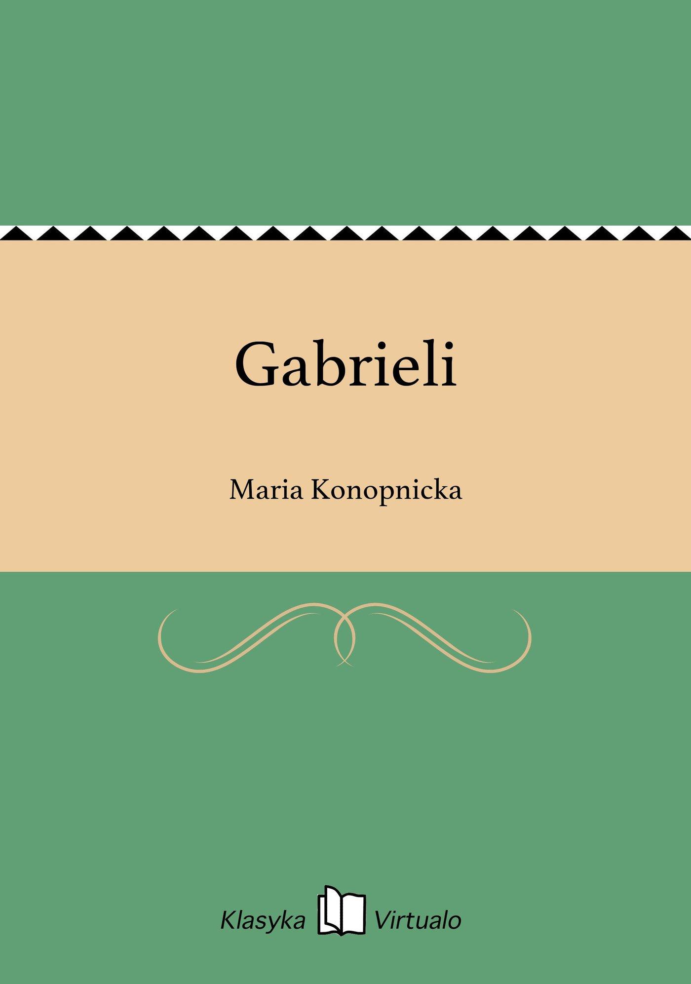 Gabrieli - Ebook (Książka na Kindle) do pobrania w formacie MOBI