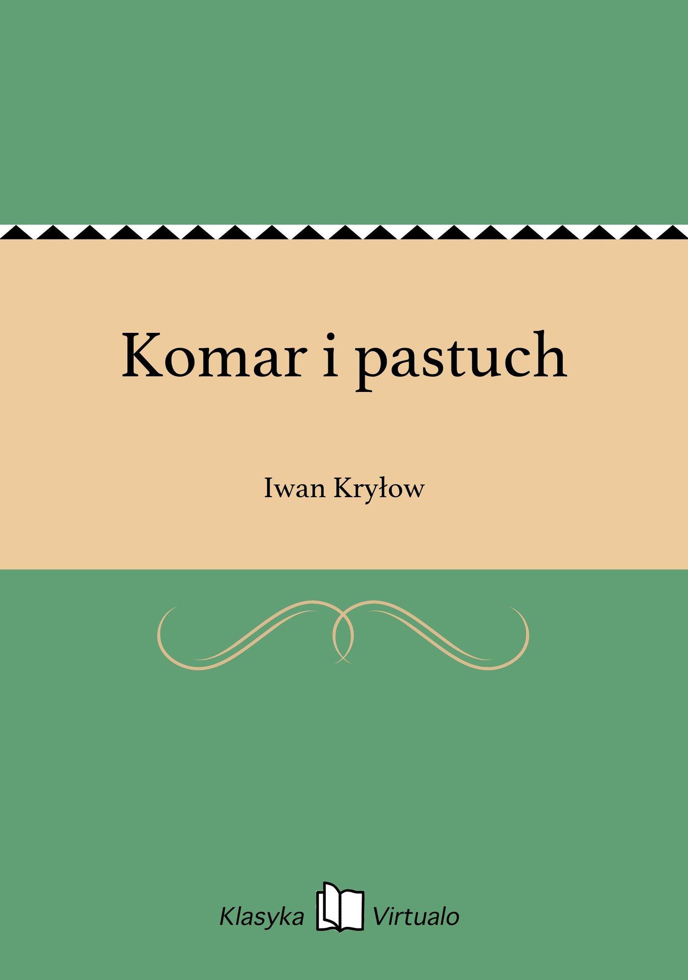Komar i pastuch - Ebook (Książka na Kindle) do pobrania w formacie MOBI