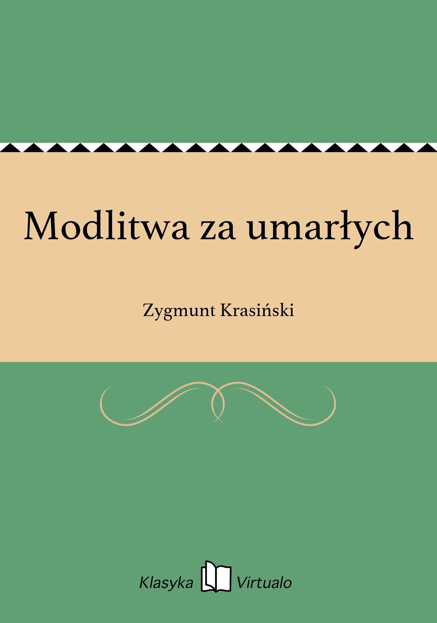 Modlitwa za umarłych - Ebook (Książka na Kindle) do pobrania w formacie MOBI