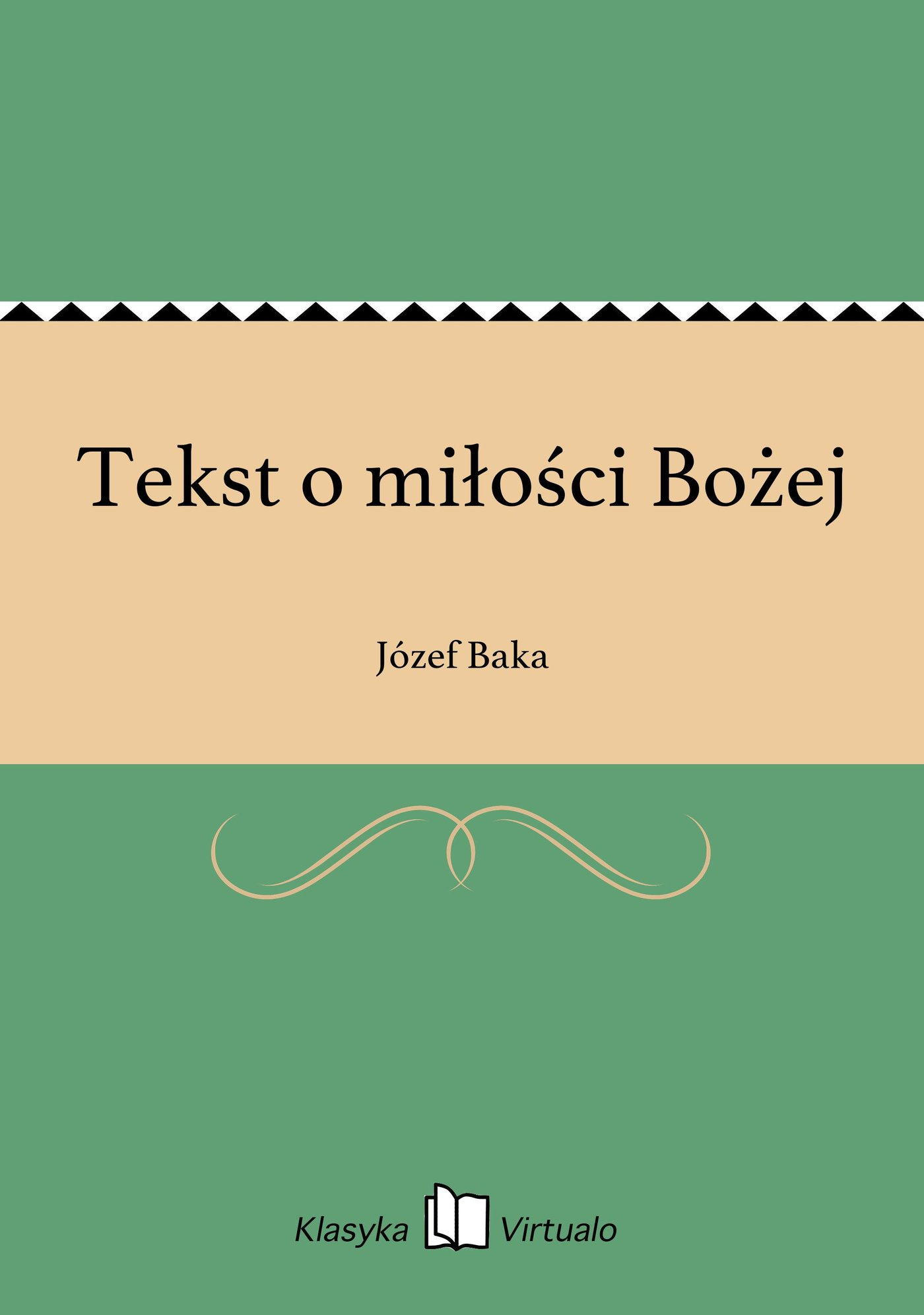 Tekst o miłości Bożej - Ebook (Książka na Kindle) do pobrania w formacie MOBI