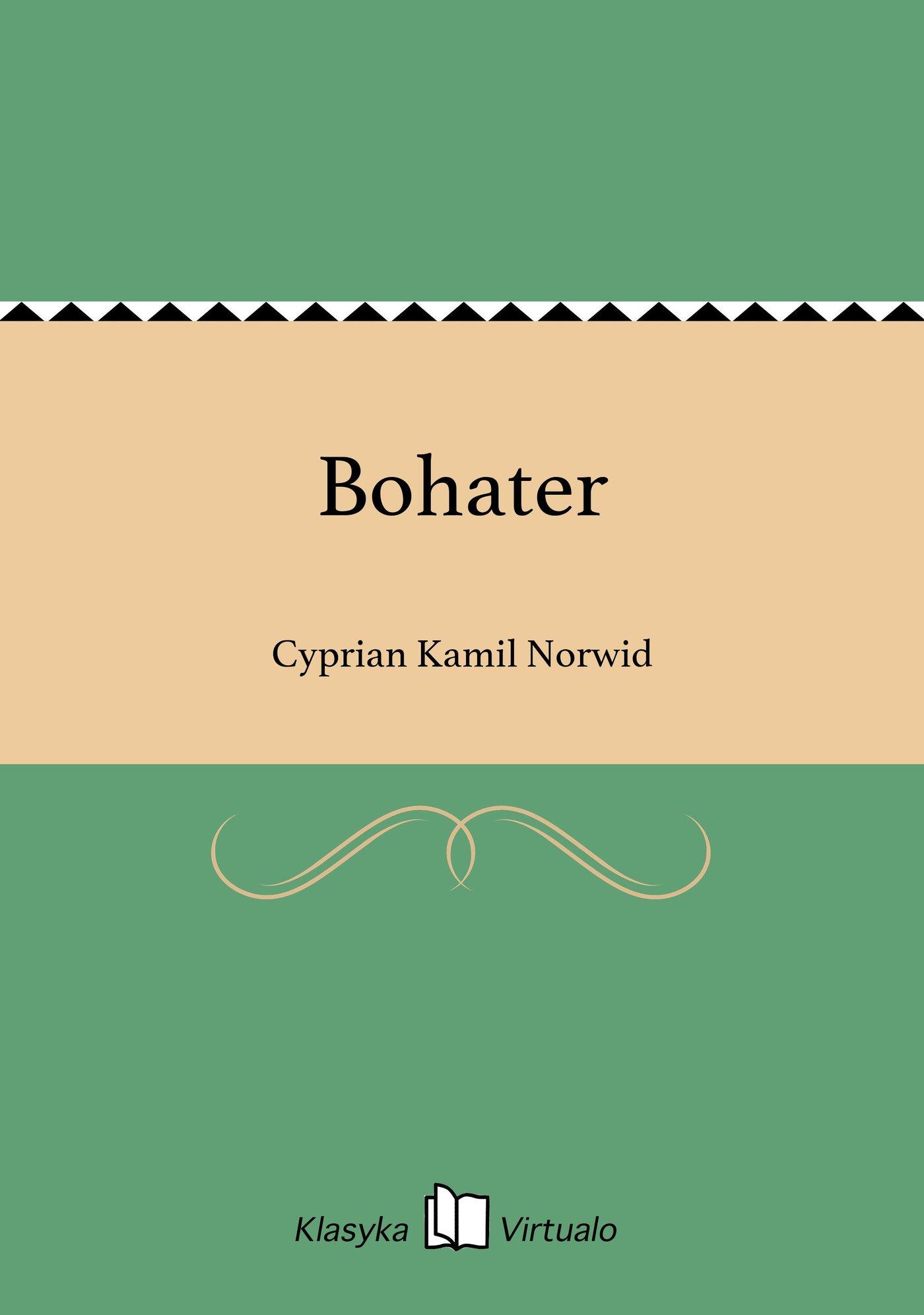 Bohater - Ebook (Książka na Kindle) do pobrania w formacie MOBI