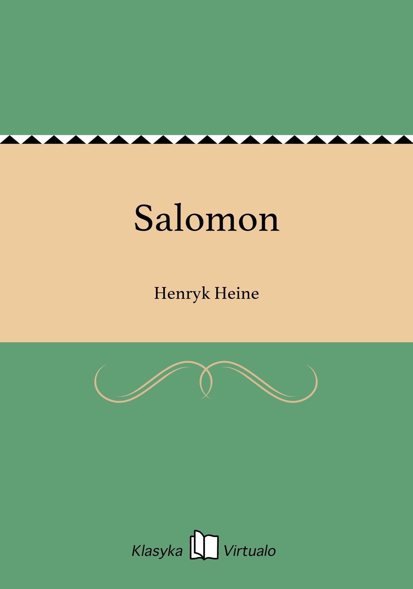 Salomon - Ebook (Książka na Kindle) do pobrania w formacie MOBI