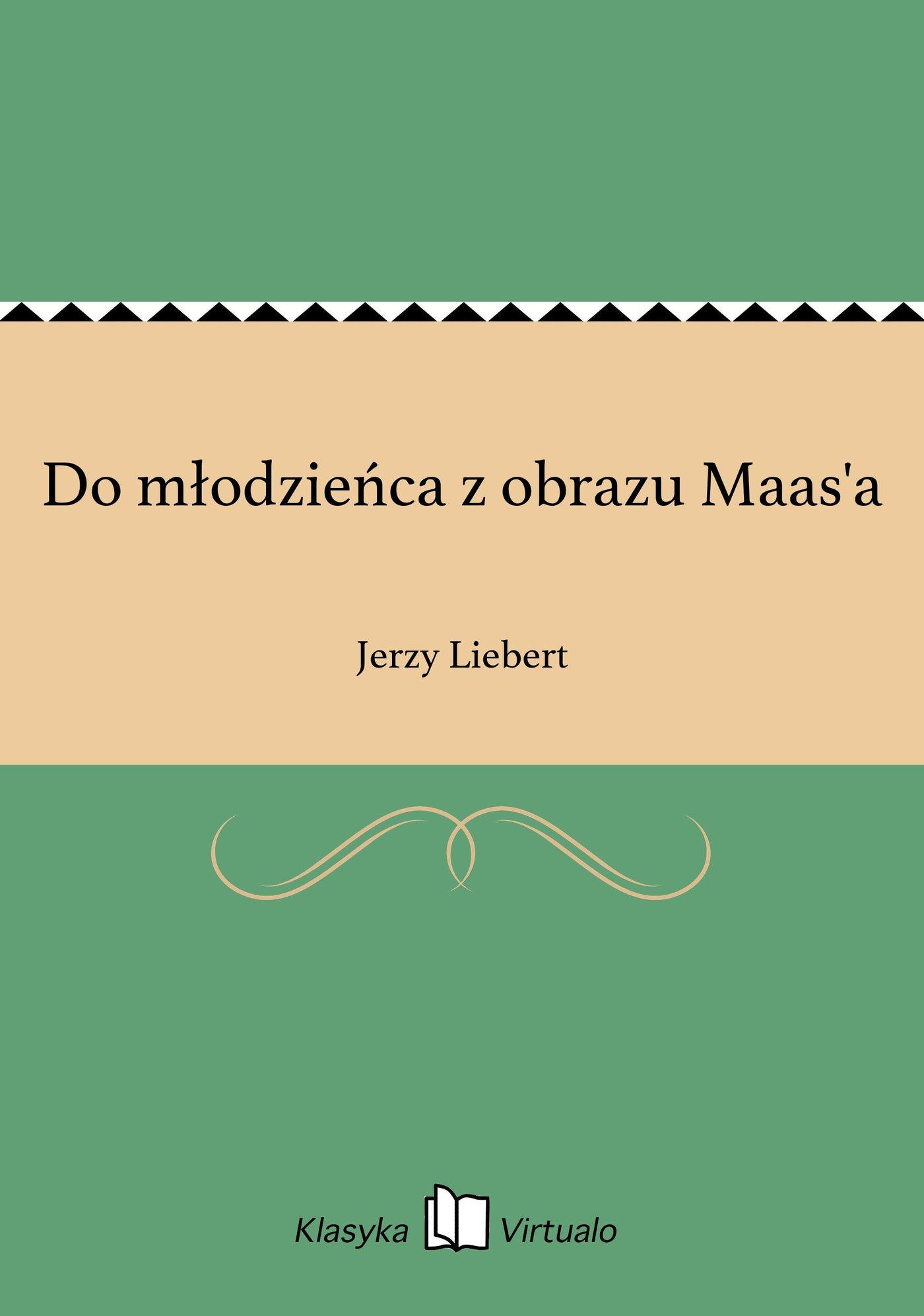 Do młodzieńca z obrazu Maas'a - Ebook (Książka na Kindle) do pobrania w formacie MOBI