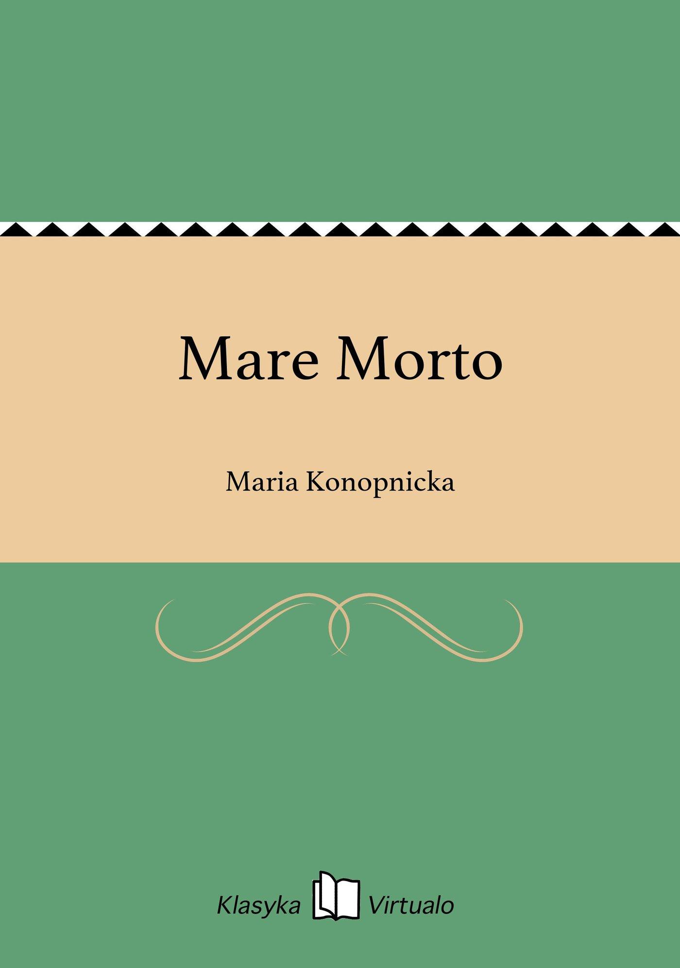 Mare Morto - Ebook (Książka na Kindle) do pobrania w formacie MOBI