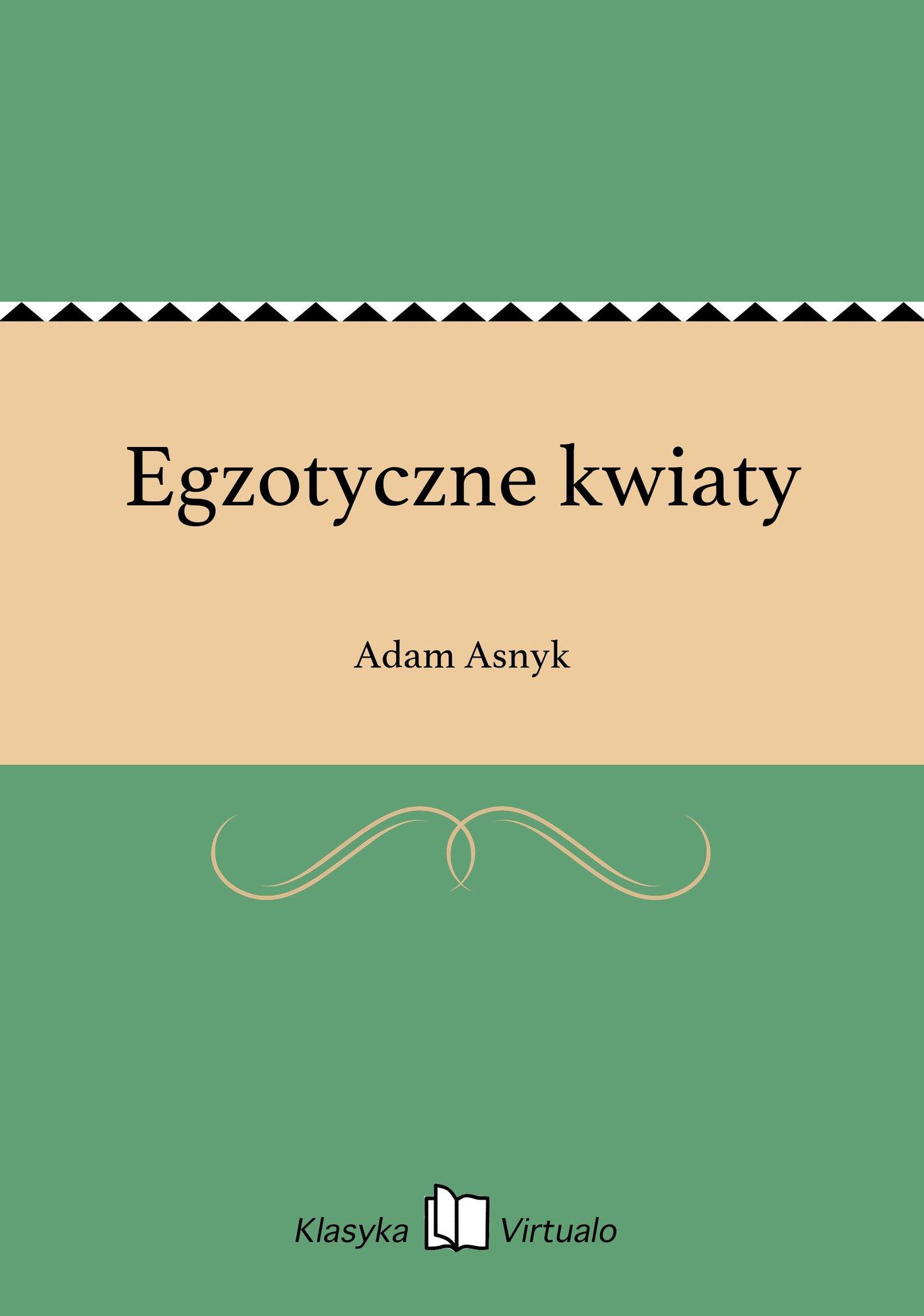 Egzotyczne kwiaty - Ebook (Książka na Kindle) do pobrania w formacie MOBI