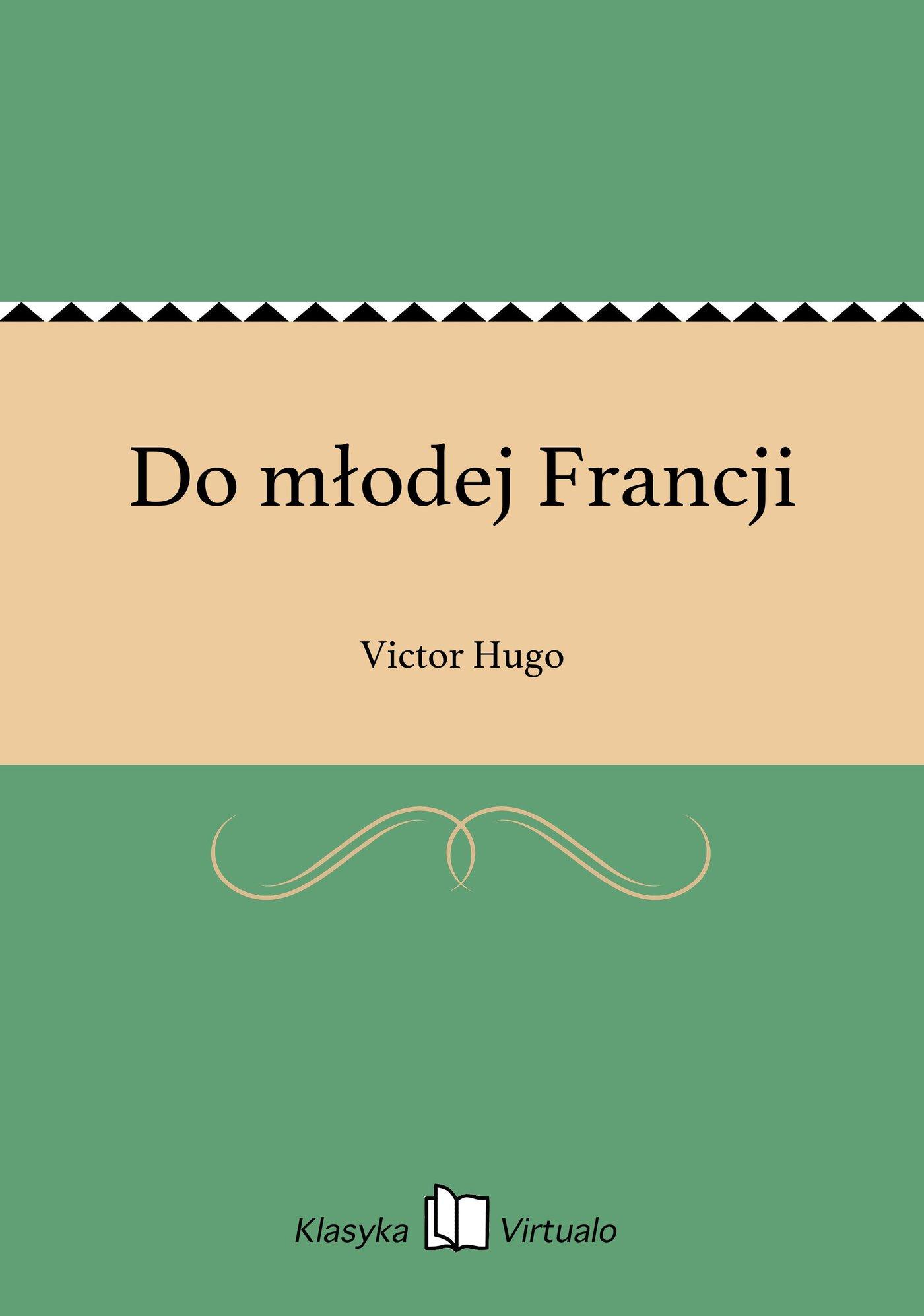 Do młodej Francji - Ebook (Książka na Kindle) do pobrania w formacie MOBI