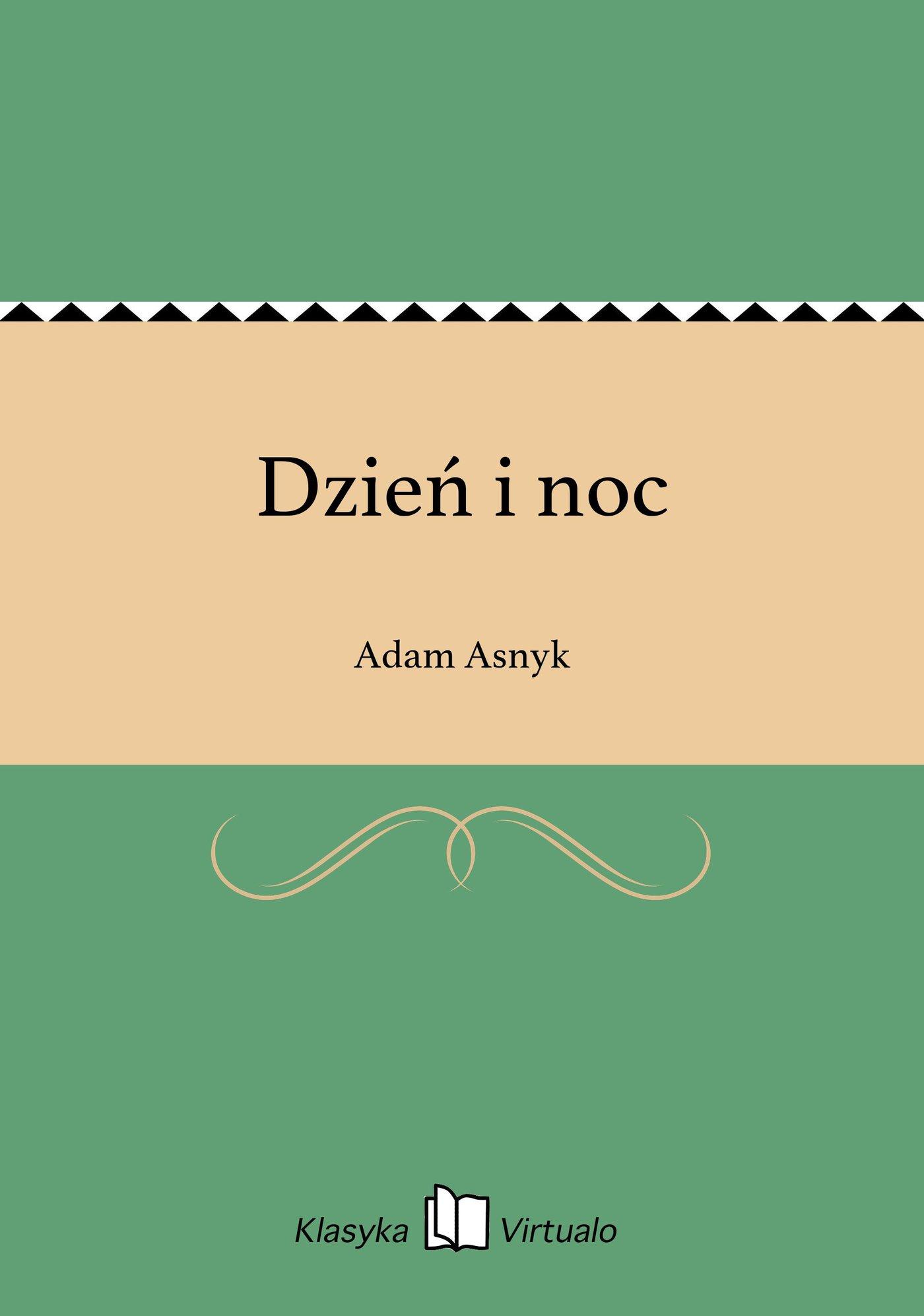Dzień i noc - Ebook (Książka na Kindle) do pobrania w formacie MOBI