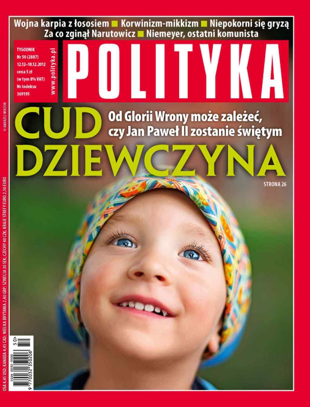 Polityka nr 50/2012 - Ebook (Książka PDF) do pobrania w formacie PDF