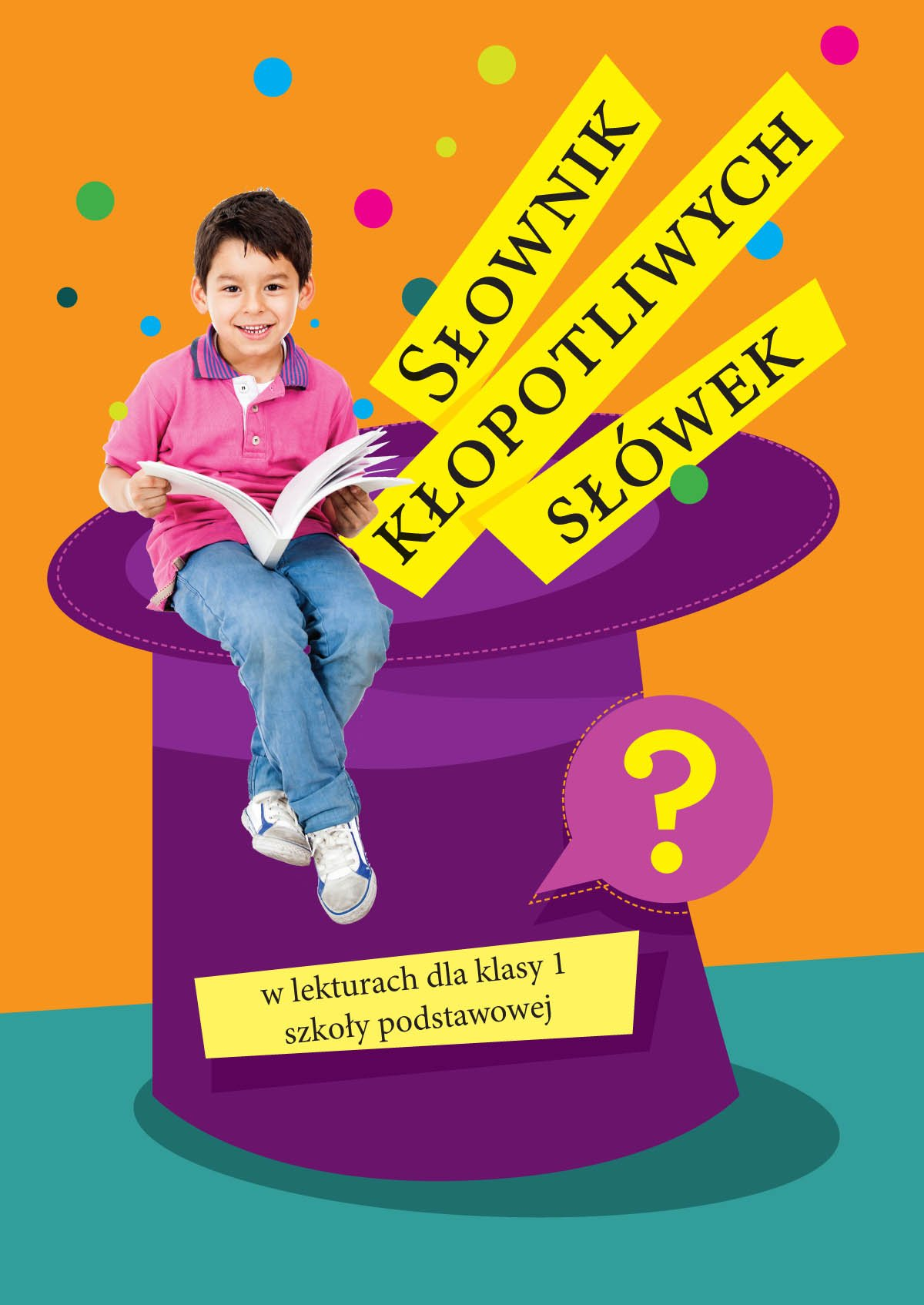 Słownik kłopotliwych słówek w lekturach dla klasy 1 szkoły podstawowej - Ebook (Książka PDF) do pobrania w formacie PDF