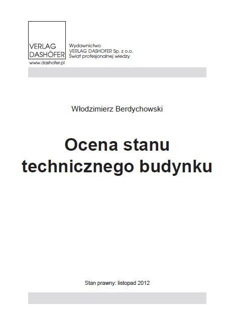 Ocena stanu technicznego budynku - Ebook (Książka PDF) do pobrania w formacie PDF