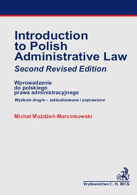 Introducion to Polish Administrative Law - Ebook (Książka PDF) do pobrania w formacie PDF