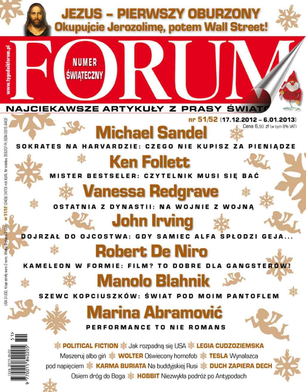 Forum nr 51/52/2012 - Ebook (Książka PDF) do pobrania w formacie PDF