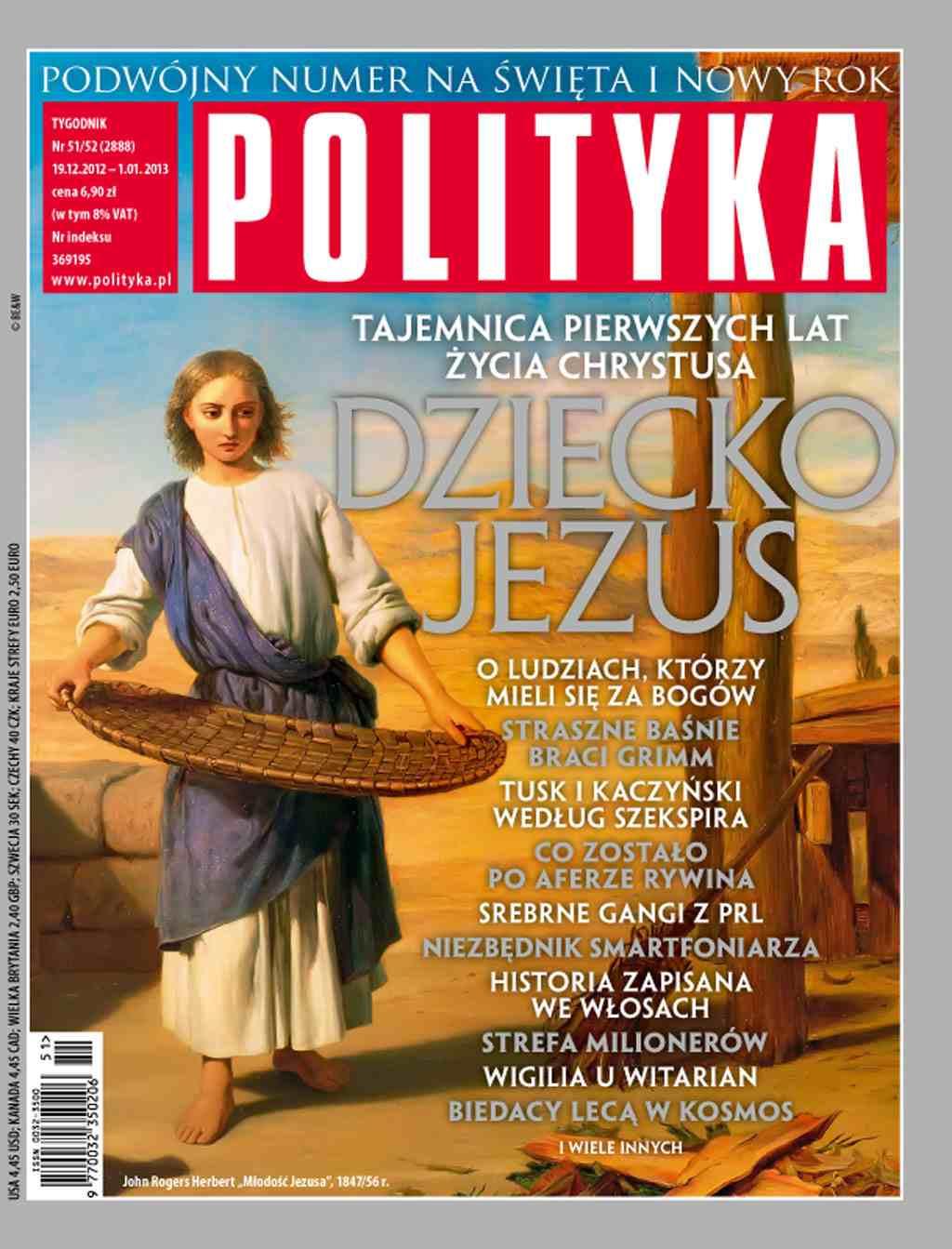 Polityka nr 51/52/2012 - Ebook (Książka PDF) do pobrania w formacie PDF